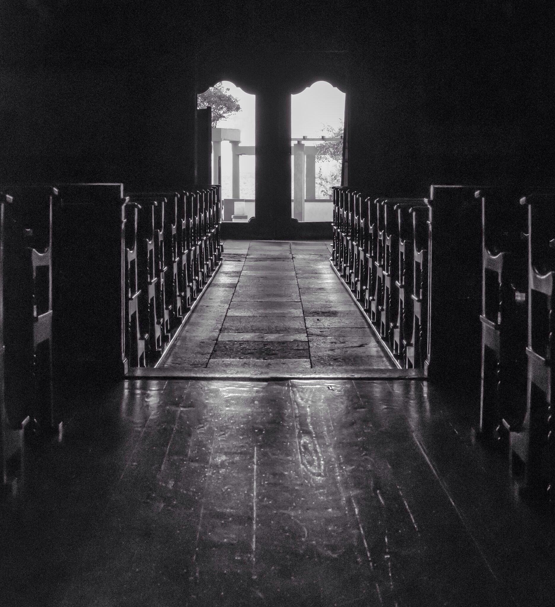 Church Looking out. by Norman3384