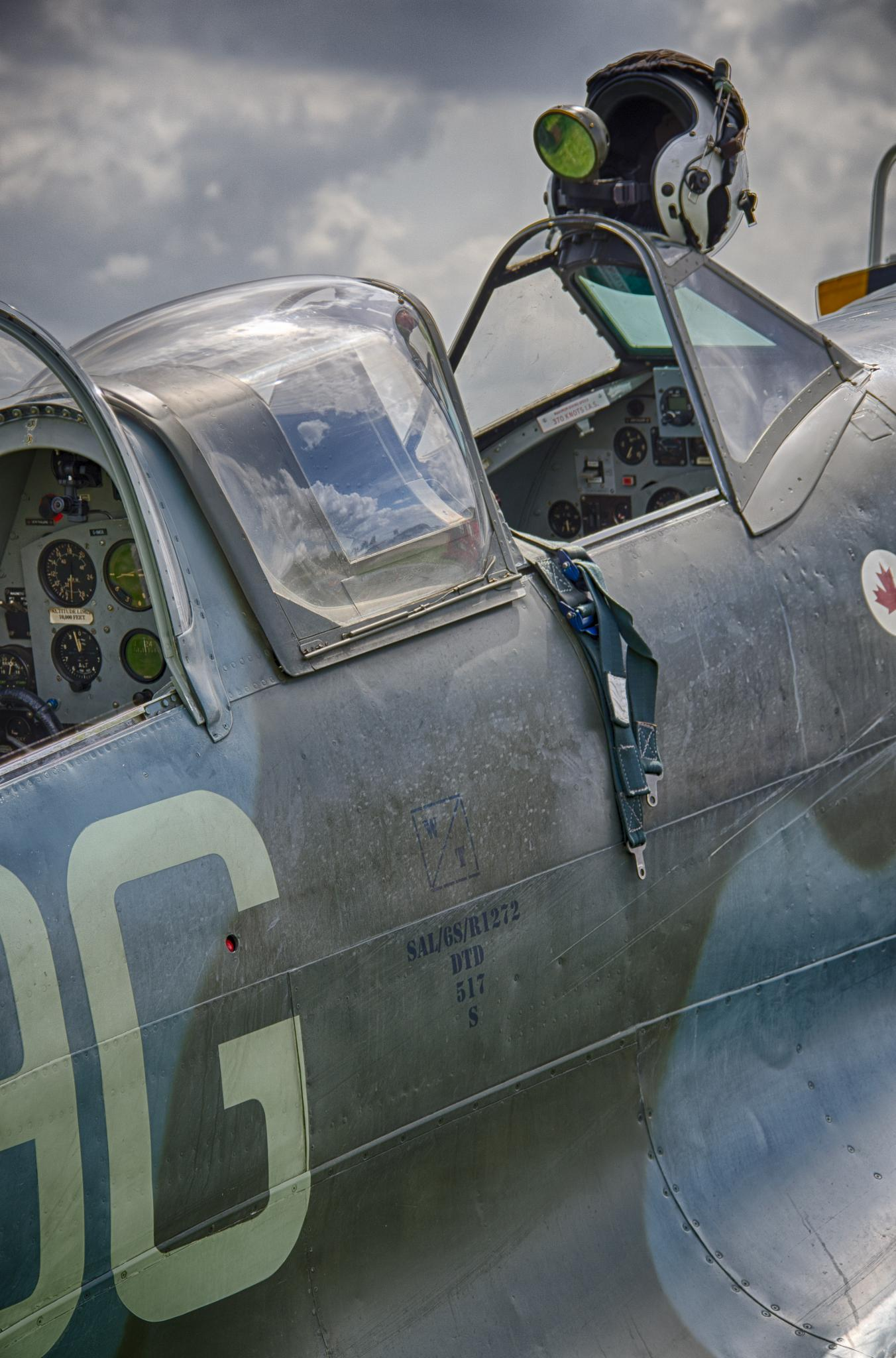 Spitfire at Rest by Norman3384