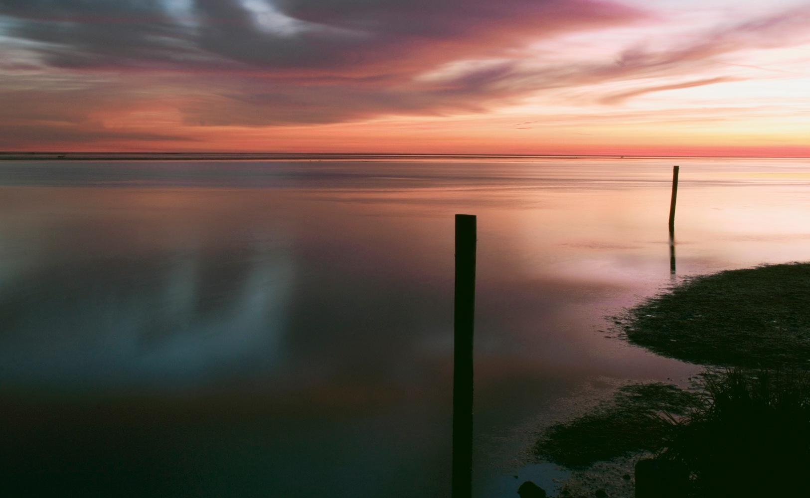 tramonto by Lauretta Michelutti