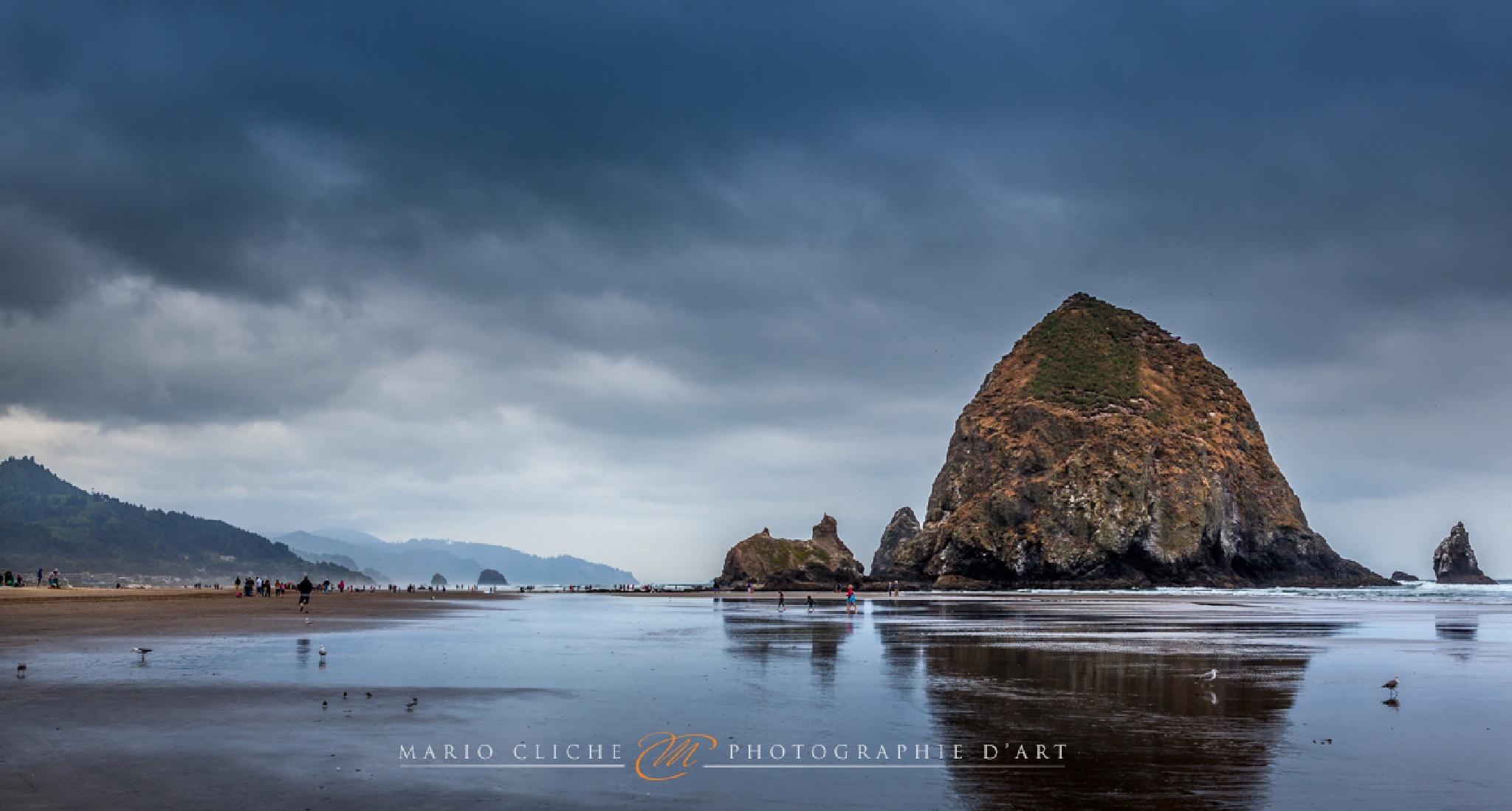 Canon Beach by Mario Cliche