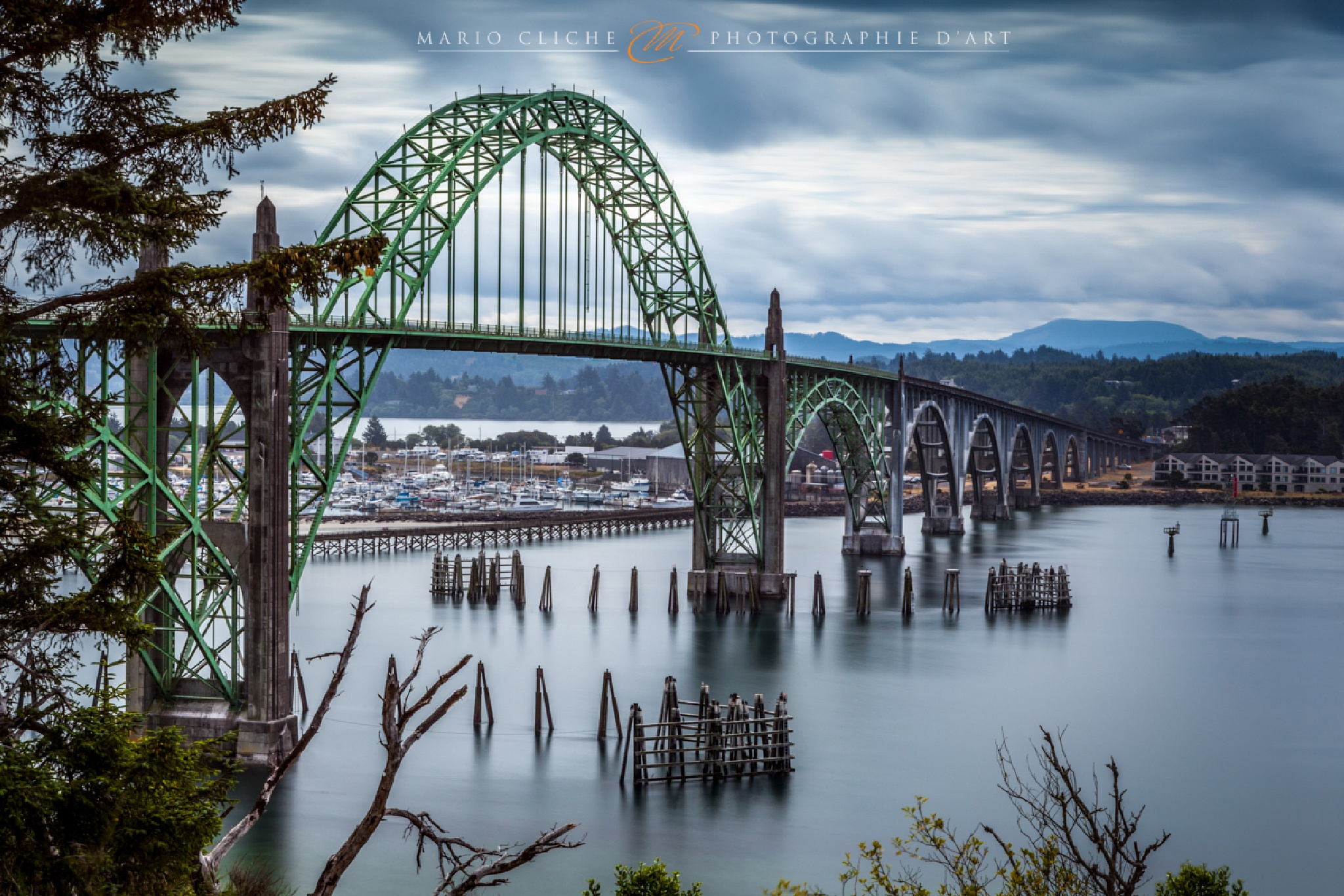 Newport Bridge by Mario Cliche