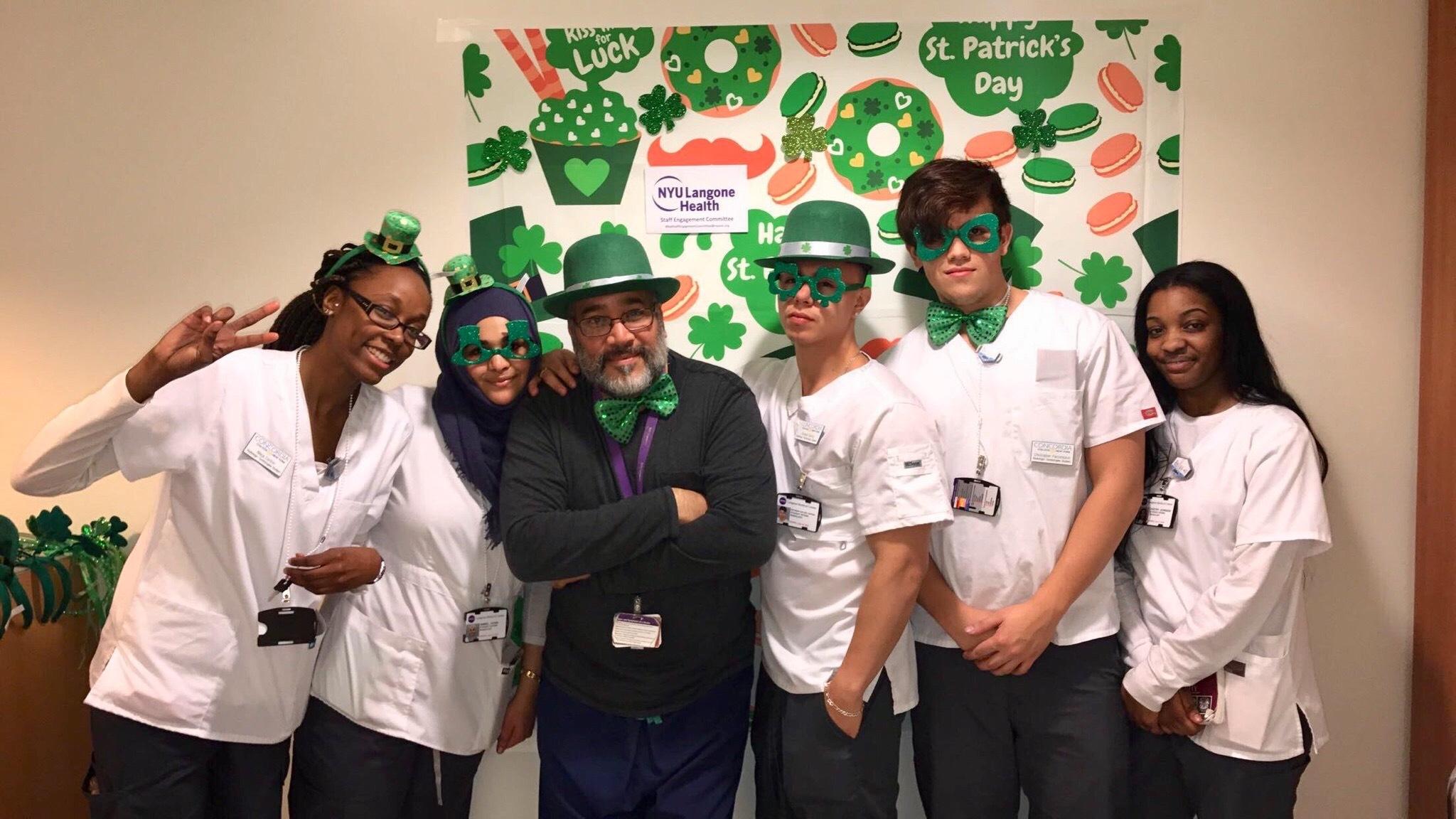 My students and I NYULMC Radiology  by Daggy