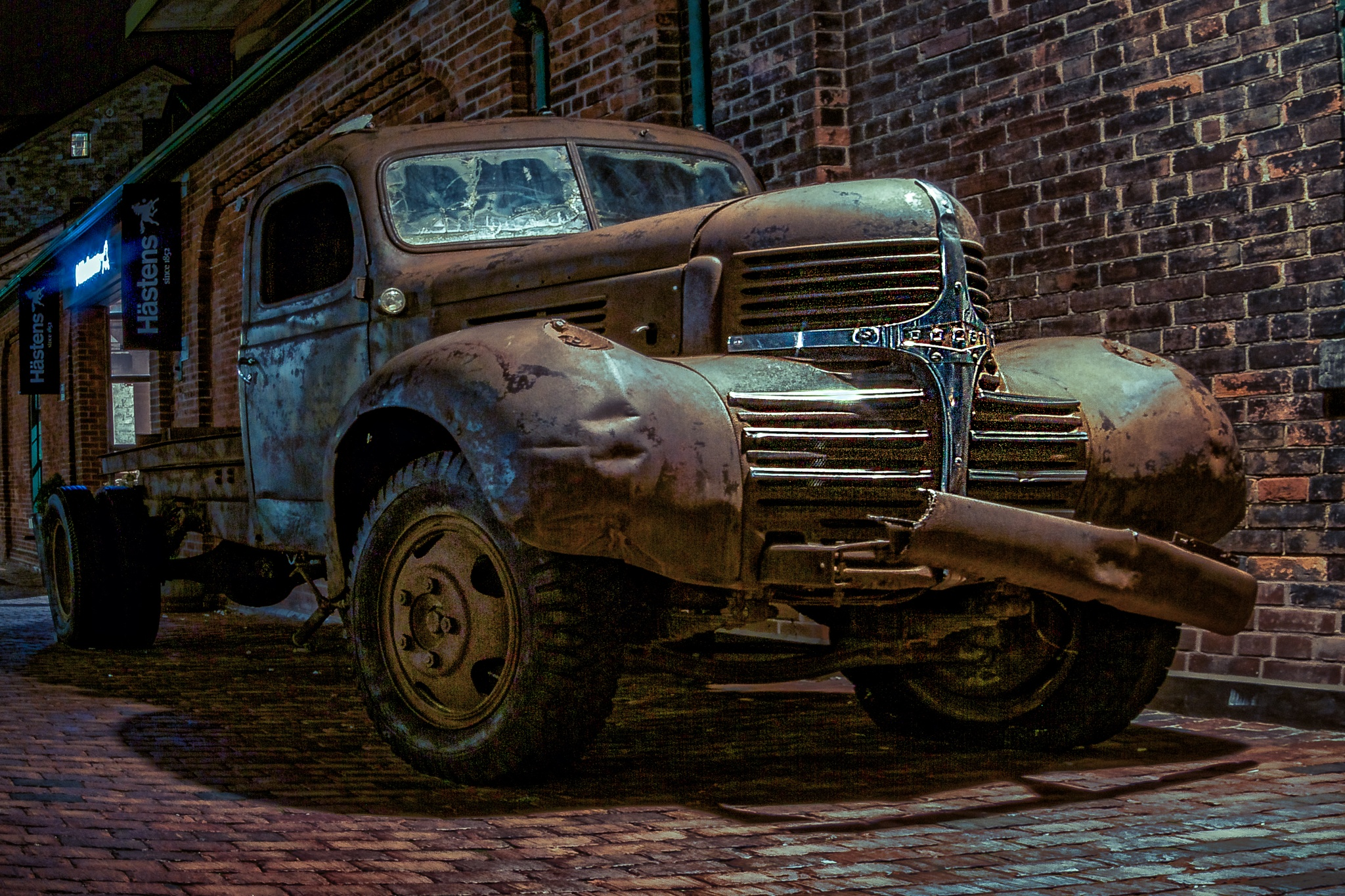 Old Dodge Truck by Images by Marty