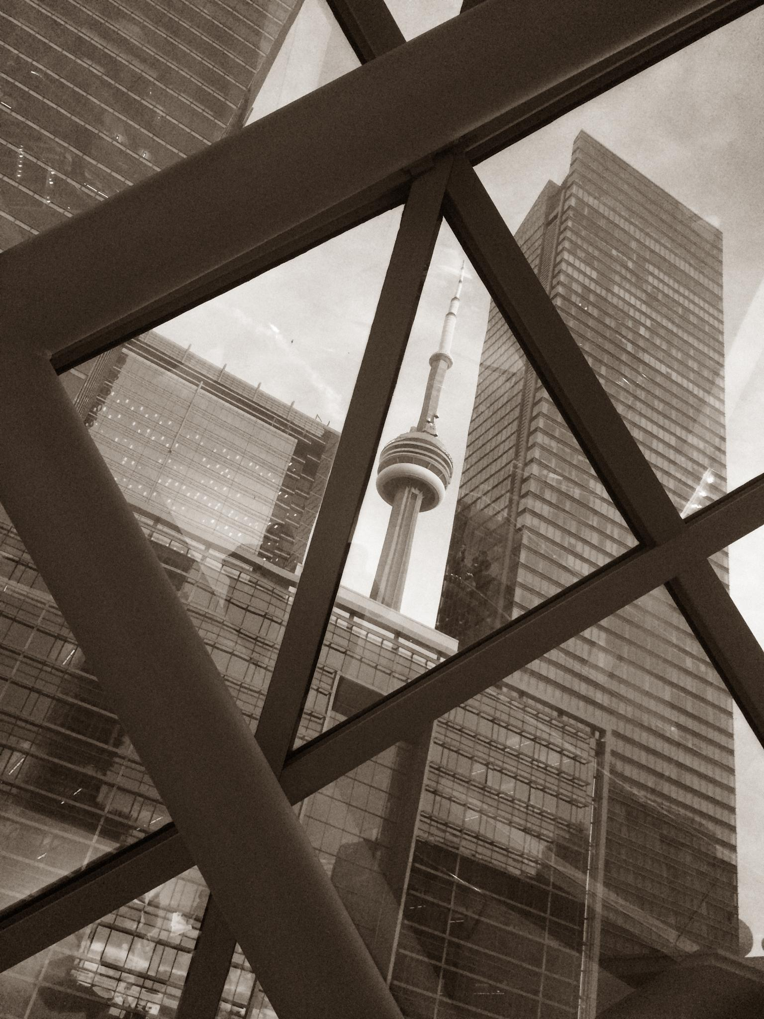 CN Tower by delmotte
