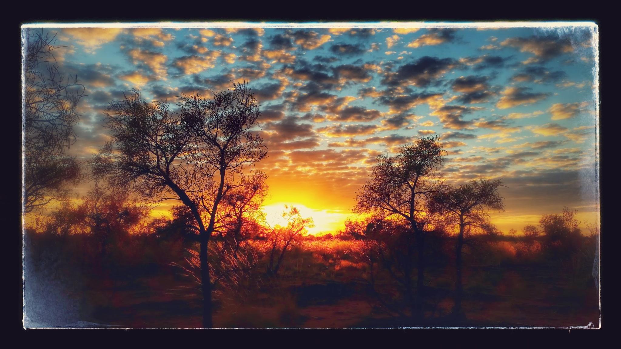 Tanami sunset enhanced by kiwikyla