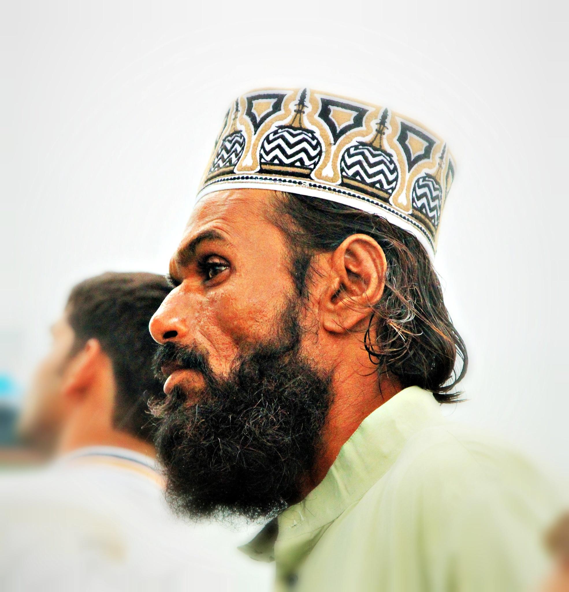 beard & cap by Virat Joneja