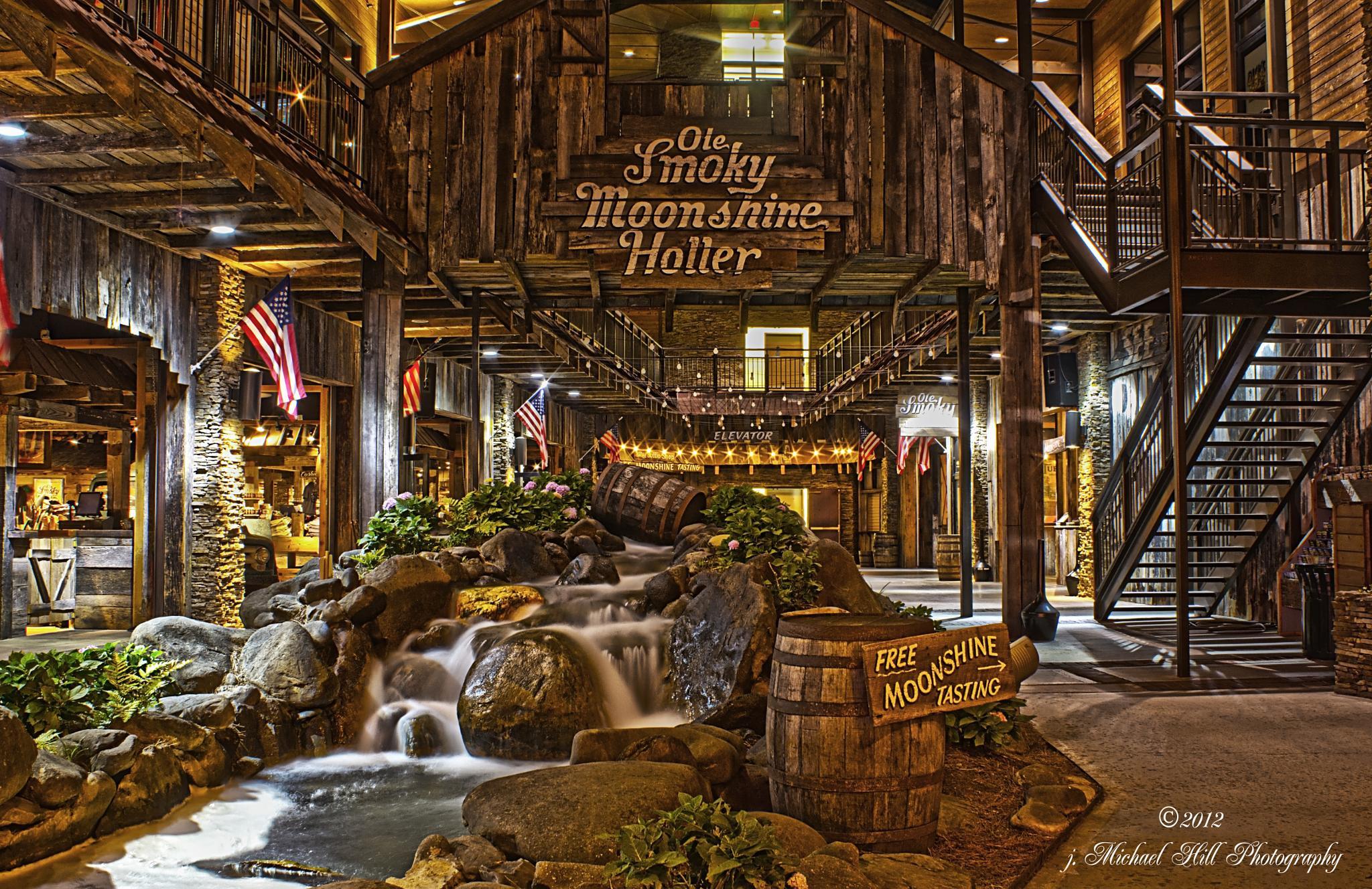 Smoky Mountain Moonshine by j. Michael Hill