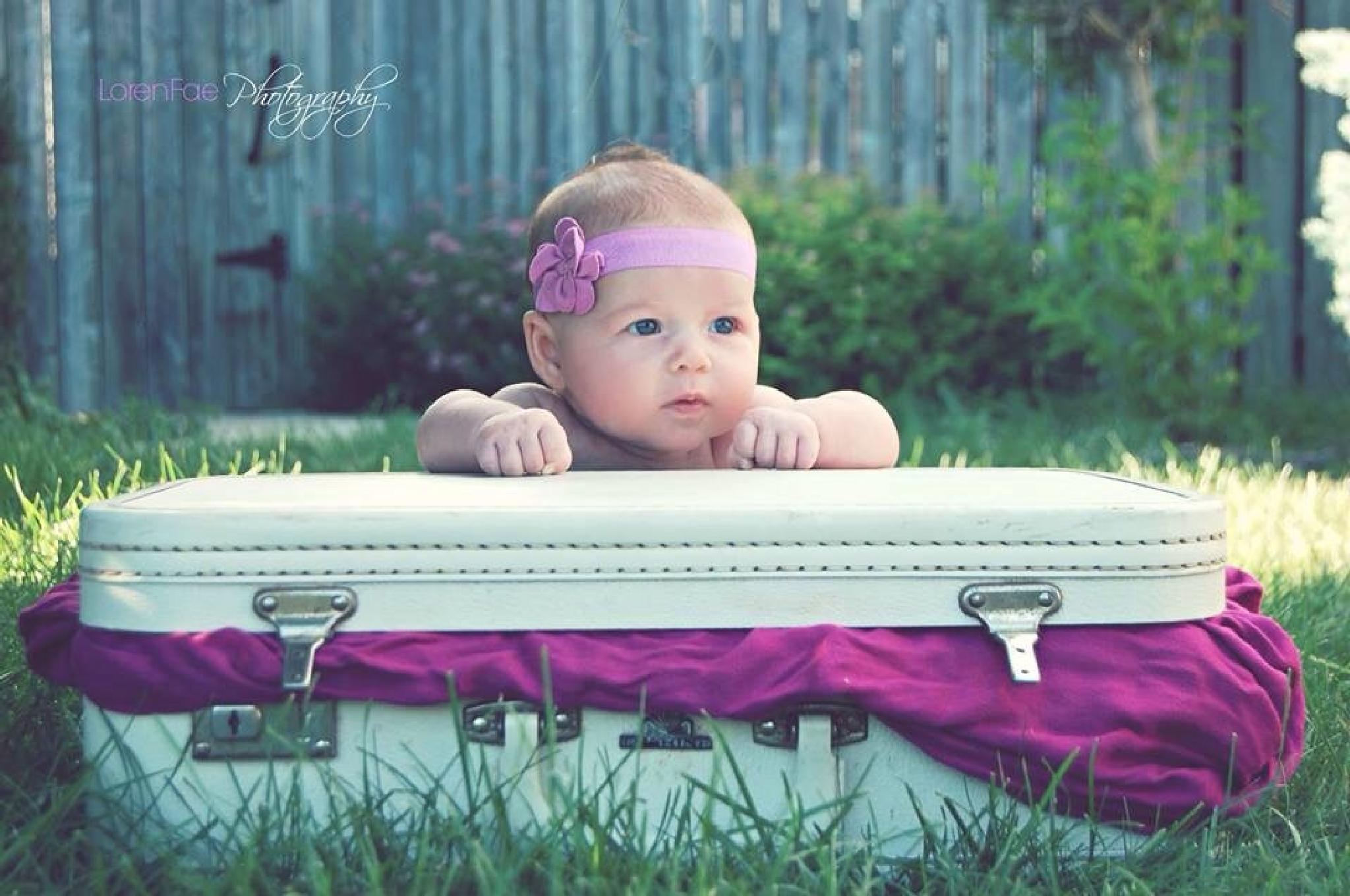 Briefcase Baby  by Loren Fae