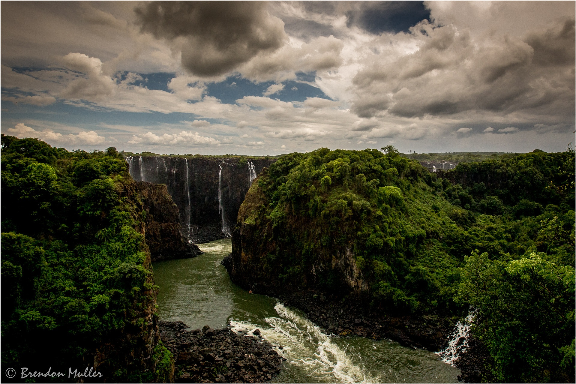 Vic Falls by Brendon Muller