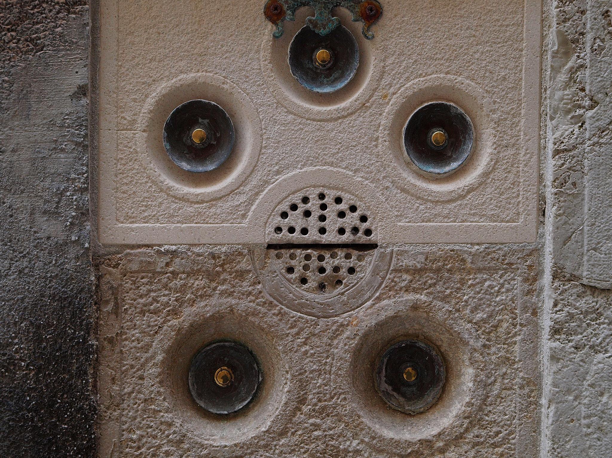 Doorbells in venice by Ganesh Neumair
