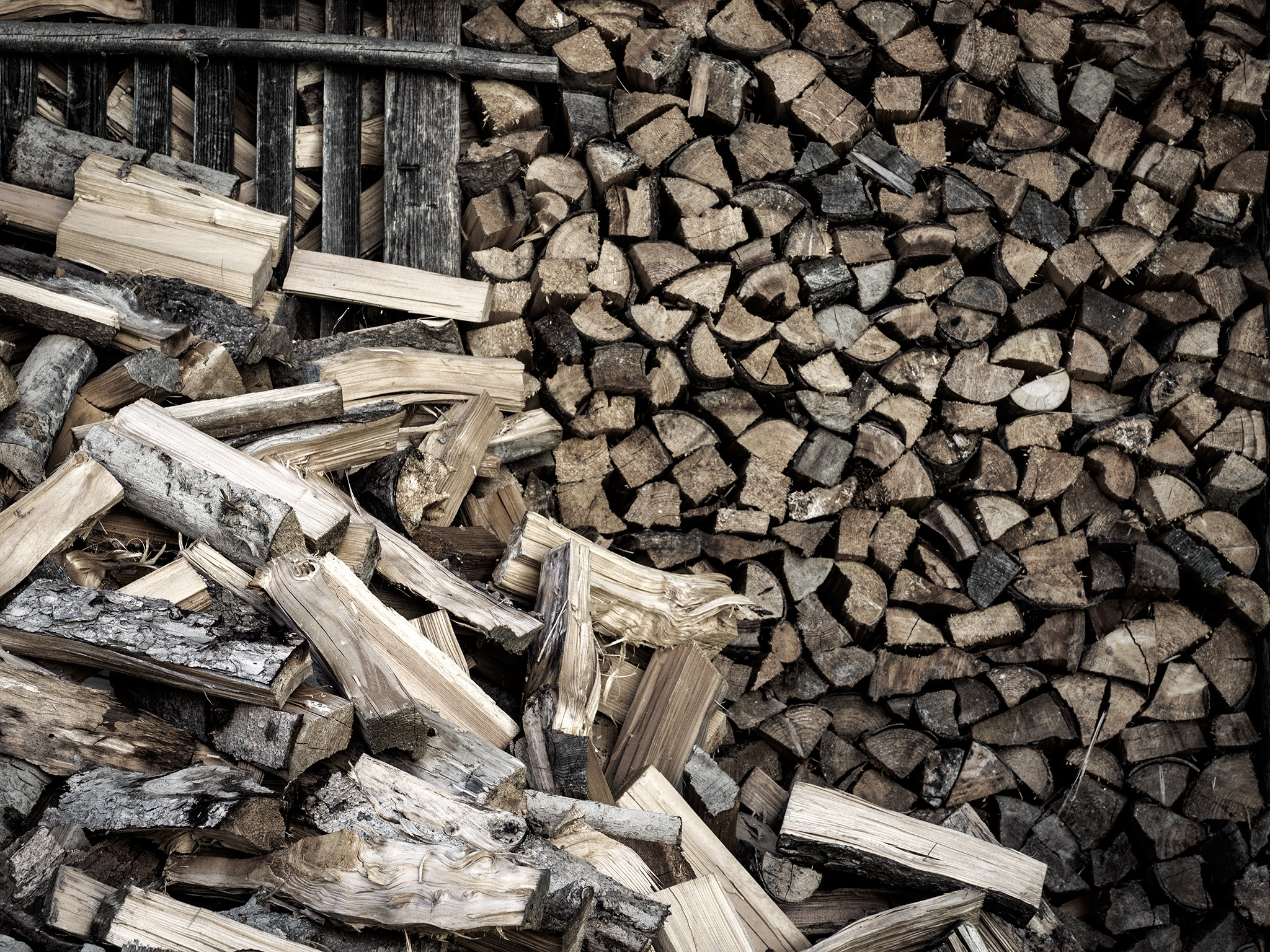 firewood by Ganesh G. Neumair