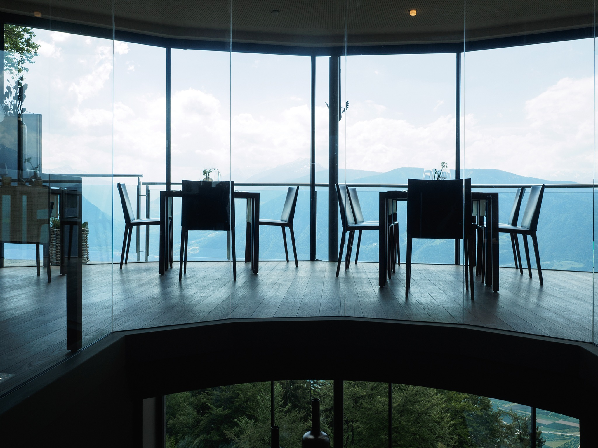 Fine dining with a an amazing view by Ganesh Neumair