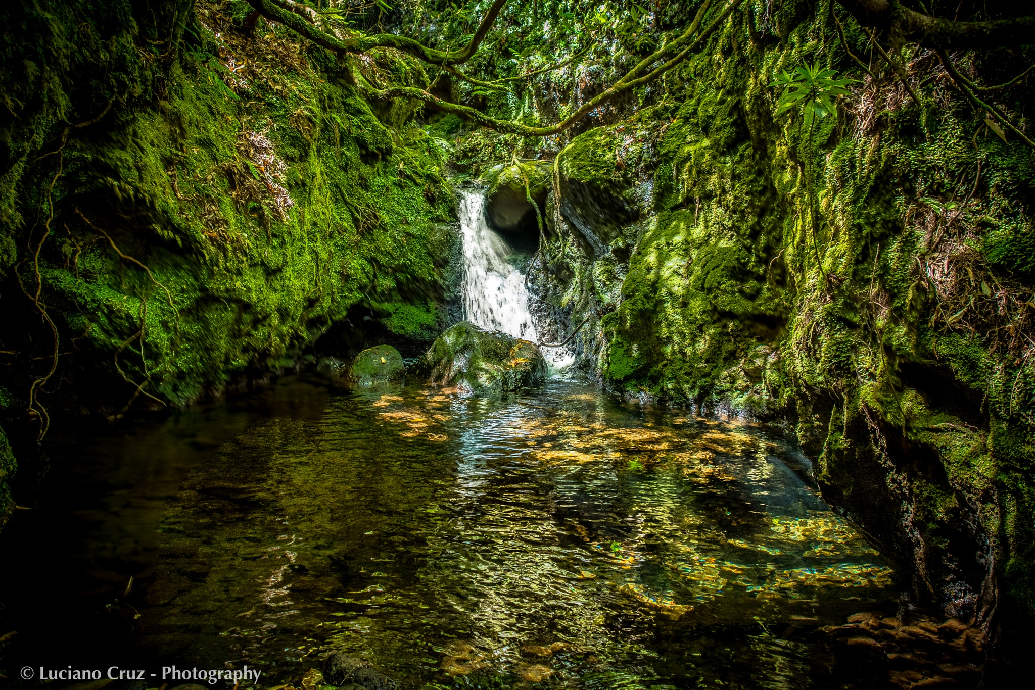 Little Waterfall by Luciano Cruz