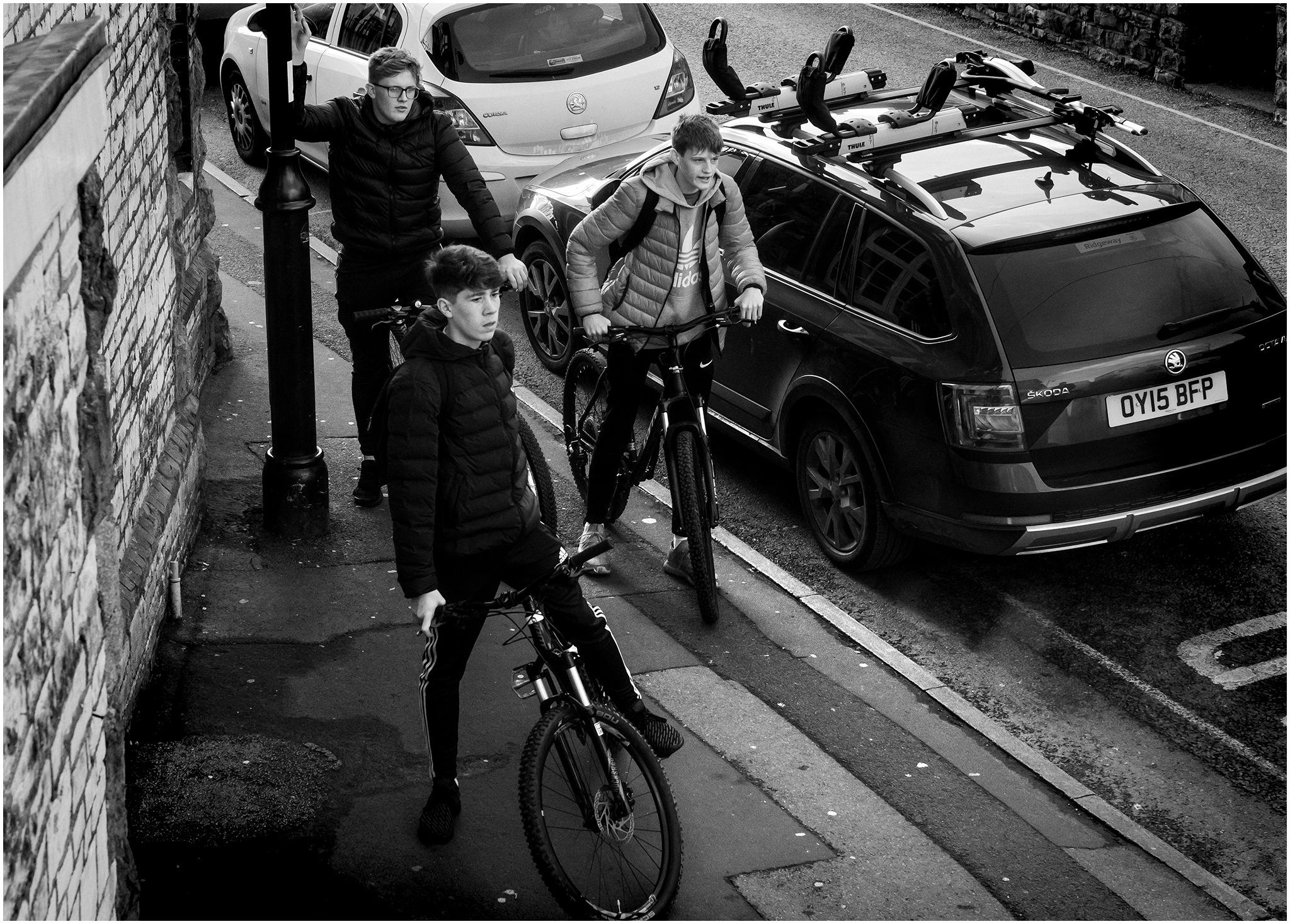 Bike Gang by Clive Ayron