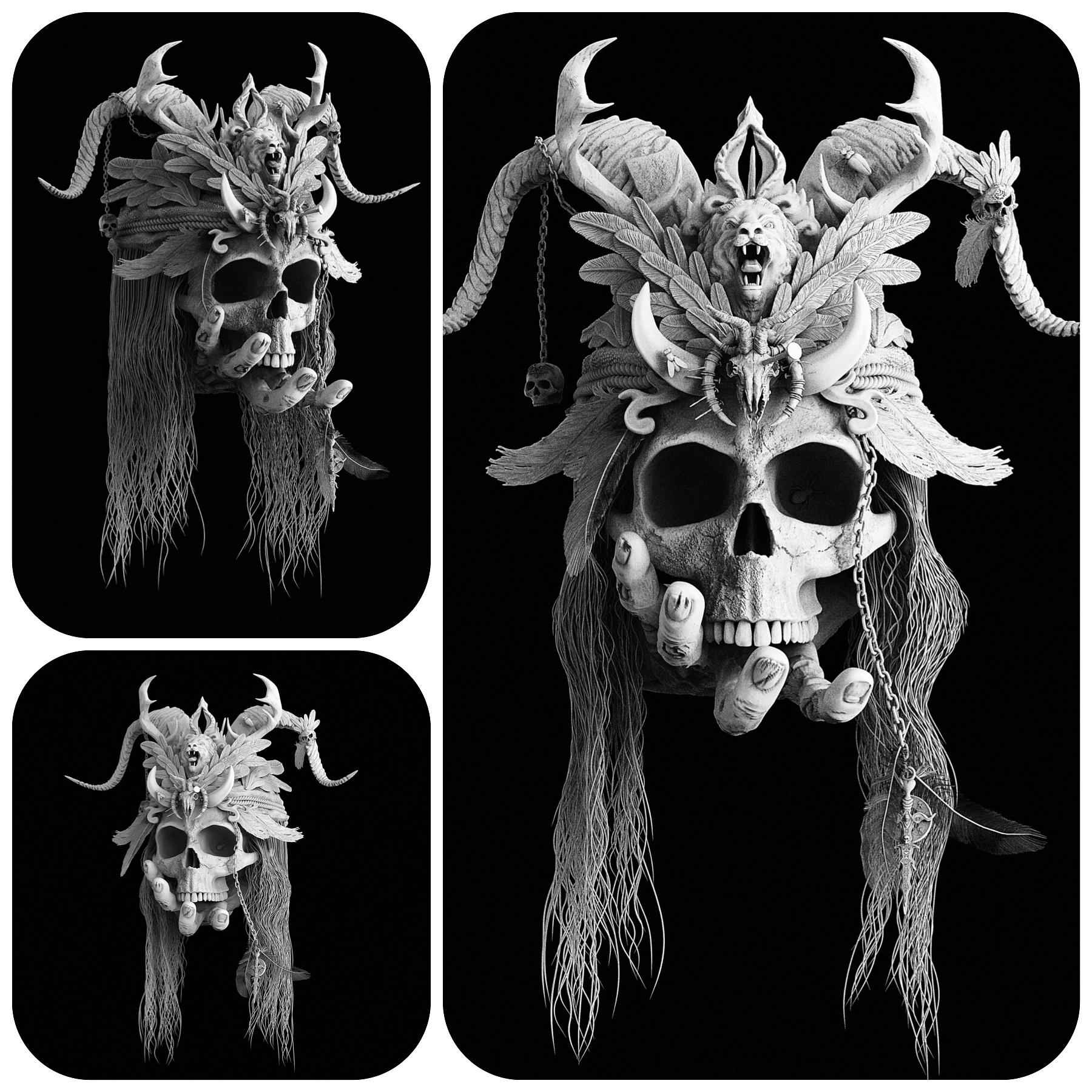 The Skull by Oliver Kieser