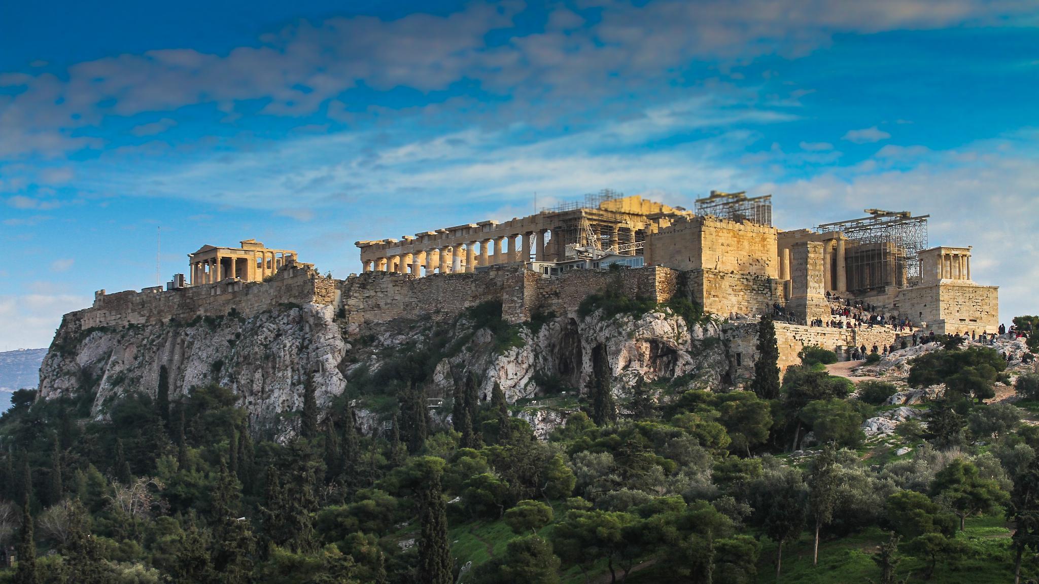 Acropolis by George K. Stamatoukos