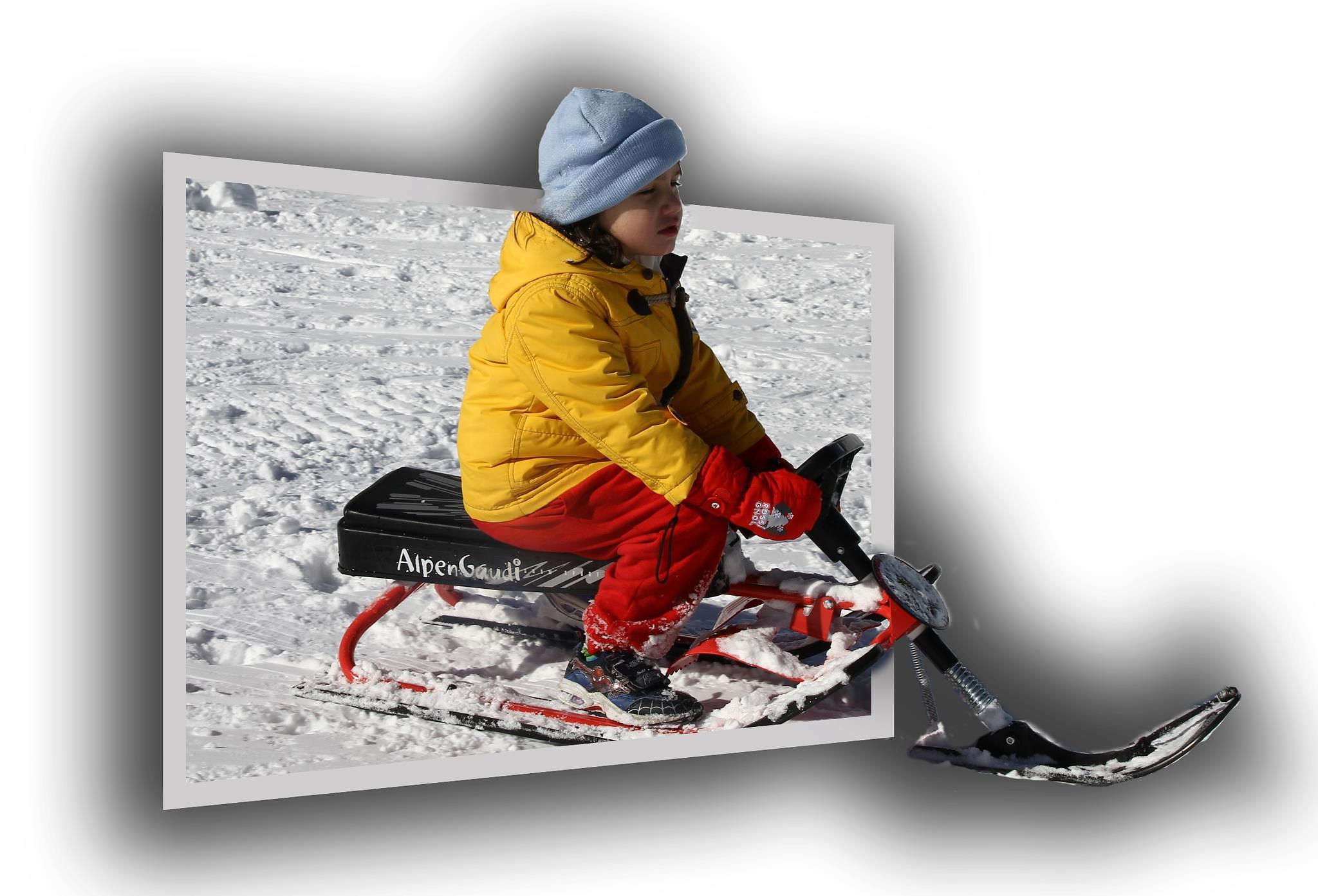 Snowboard  by George K. Stamatoukos