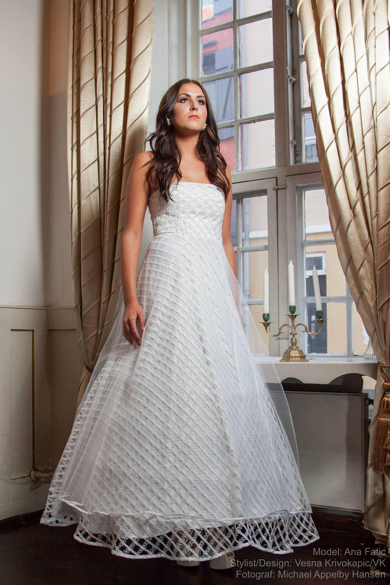 Brides Dress by Michael Appelby Hansen