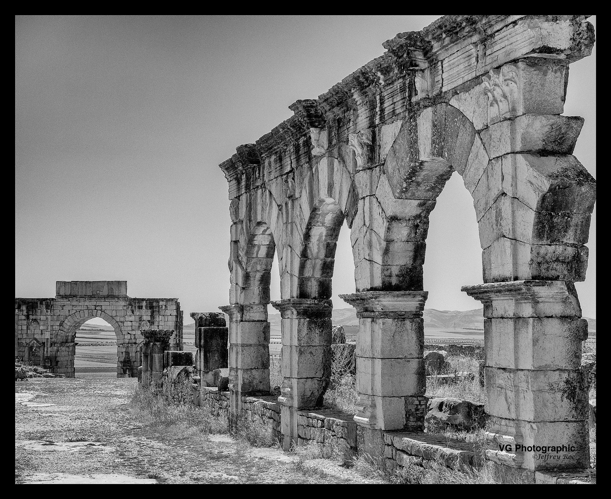 Roman Ruins of Volubilis by Jeffrey Roe