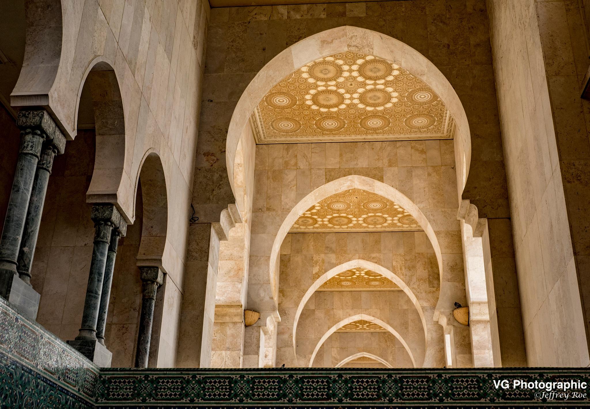 Casablanca Mosque by Jeffrey Roe