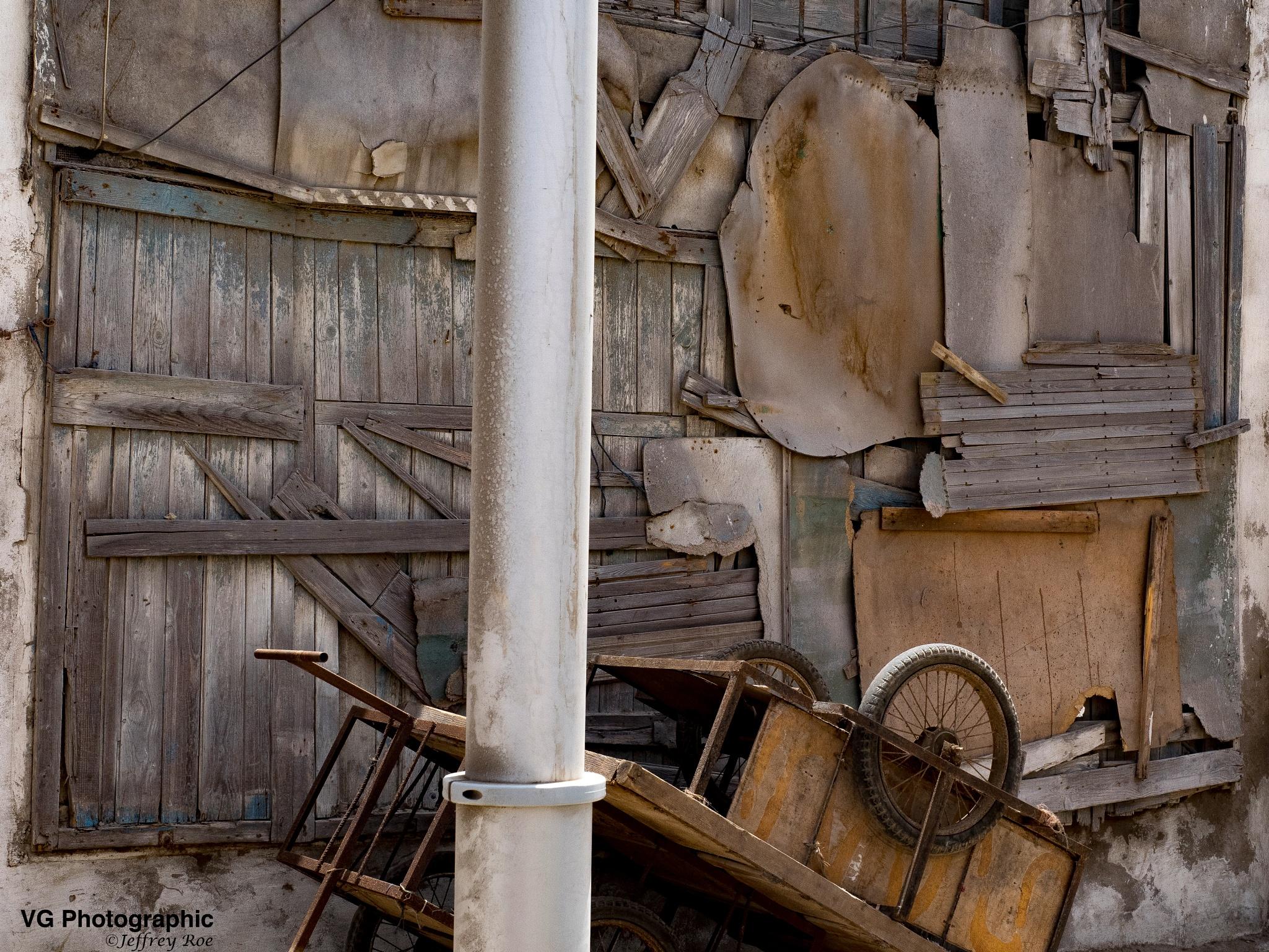 Essaouria Street Scene  by Jeffrey Roe