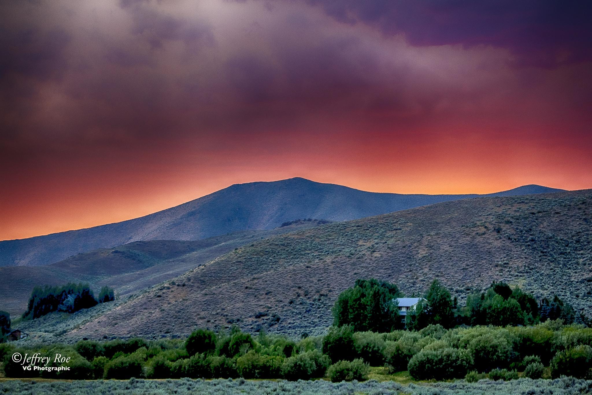 Indian Creek, Idaho by Jeffrey Roe
