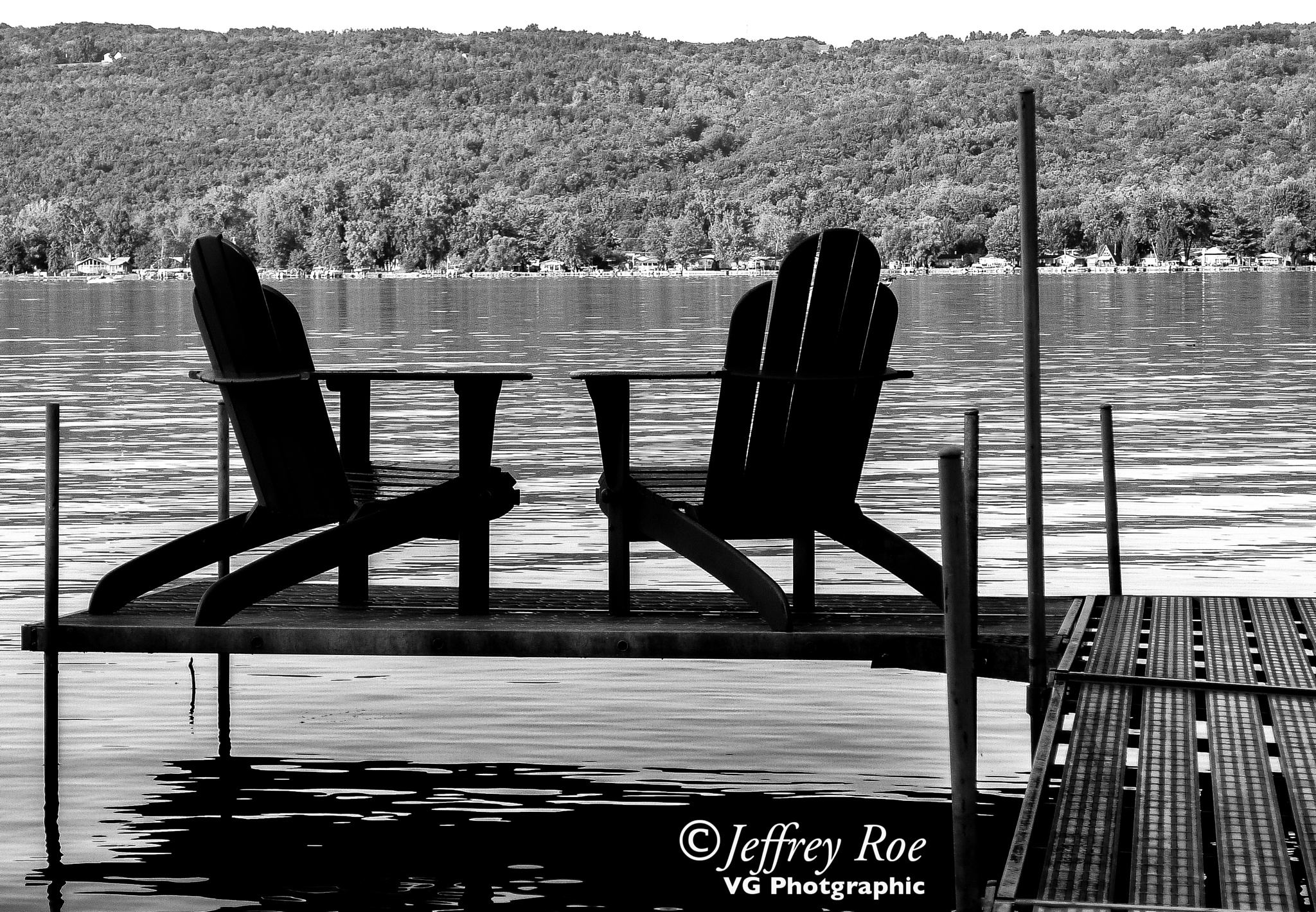 Private seating for 2 by Jeffrey Roe