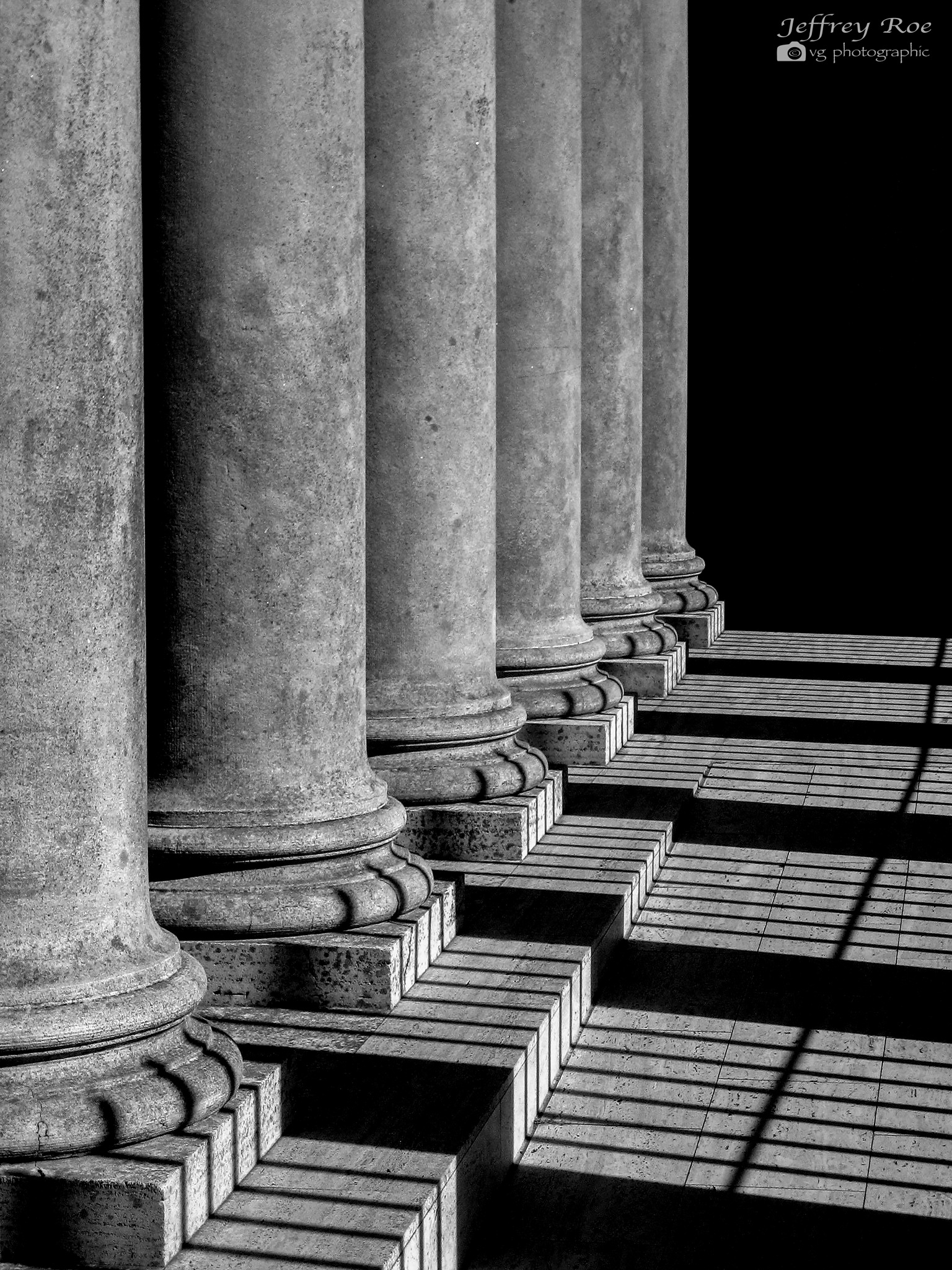 The  Pillars Have Toes by Jeffrey Roe