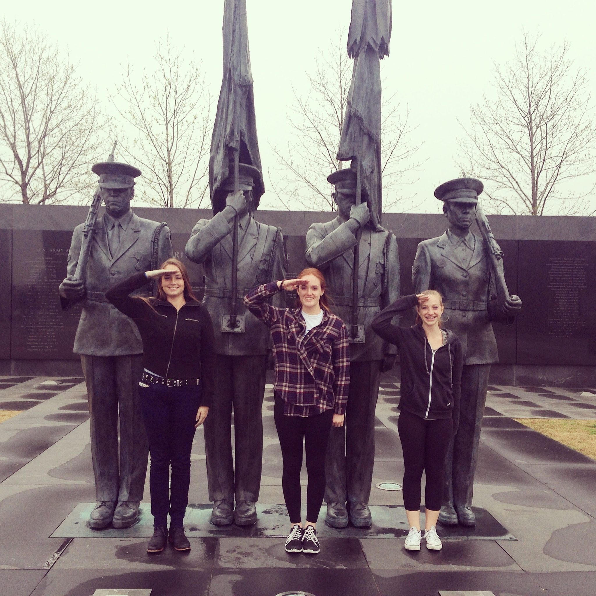Saluting our troups by Rosekirk