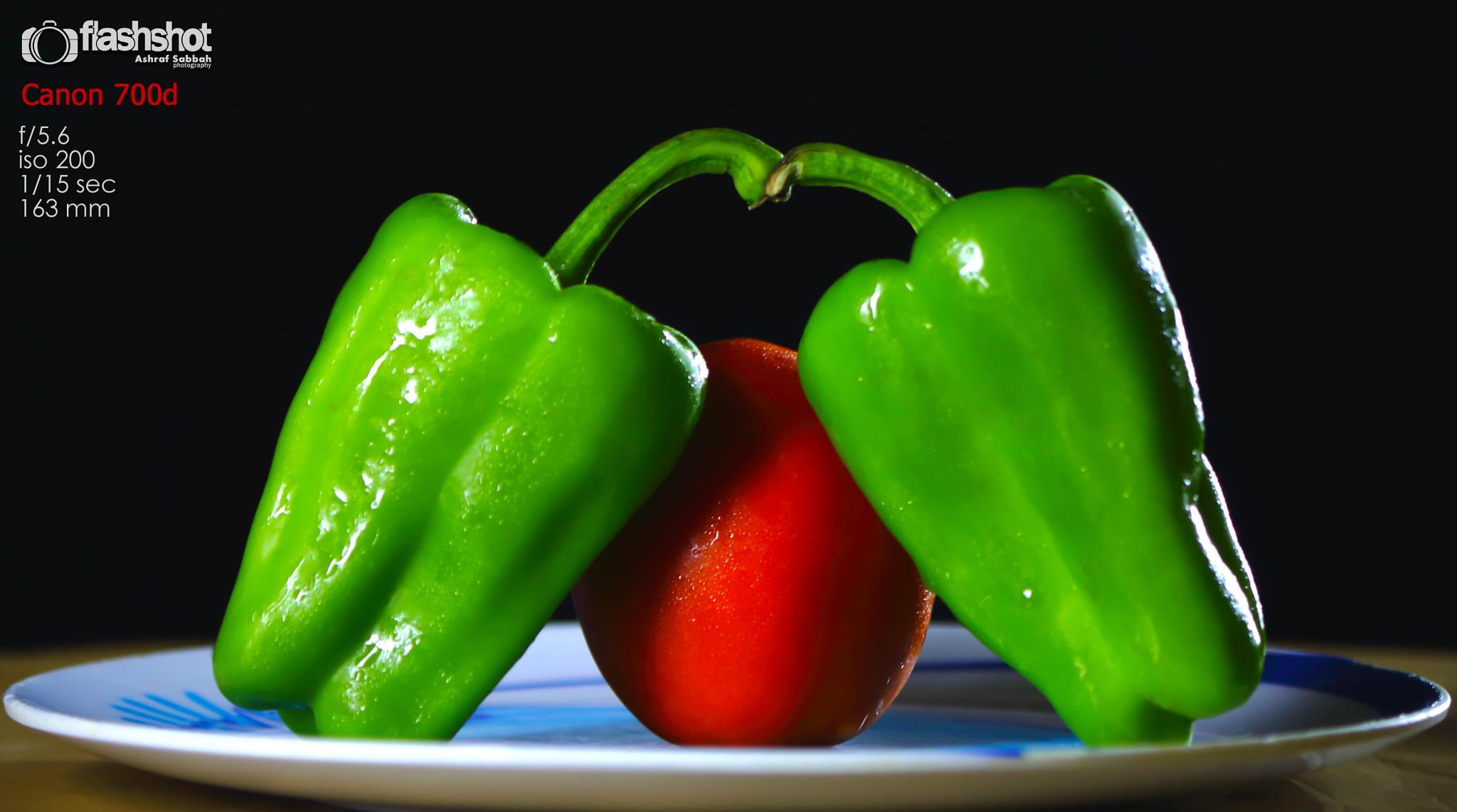 Love among vegetables  by Ashraf Sabbah