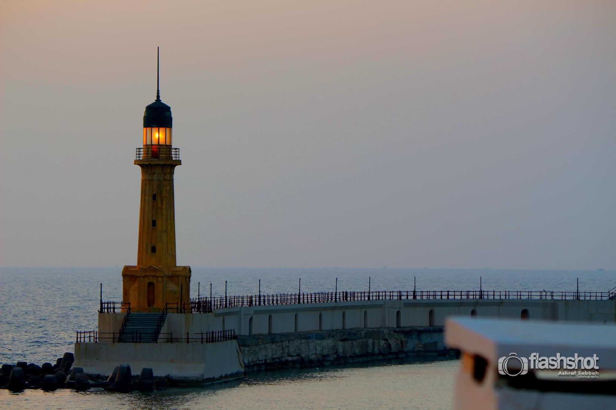 Light house by Ashraf Sabbah