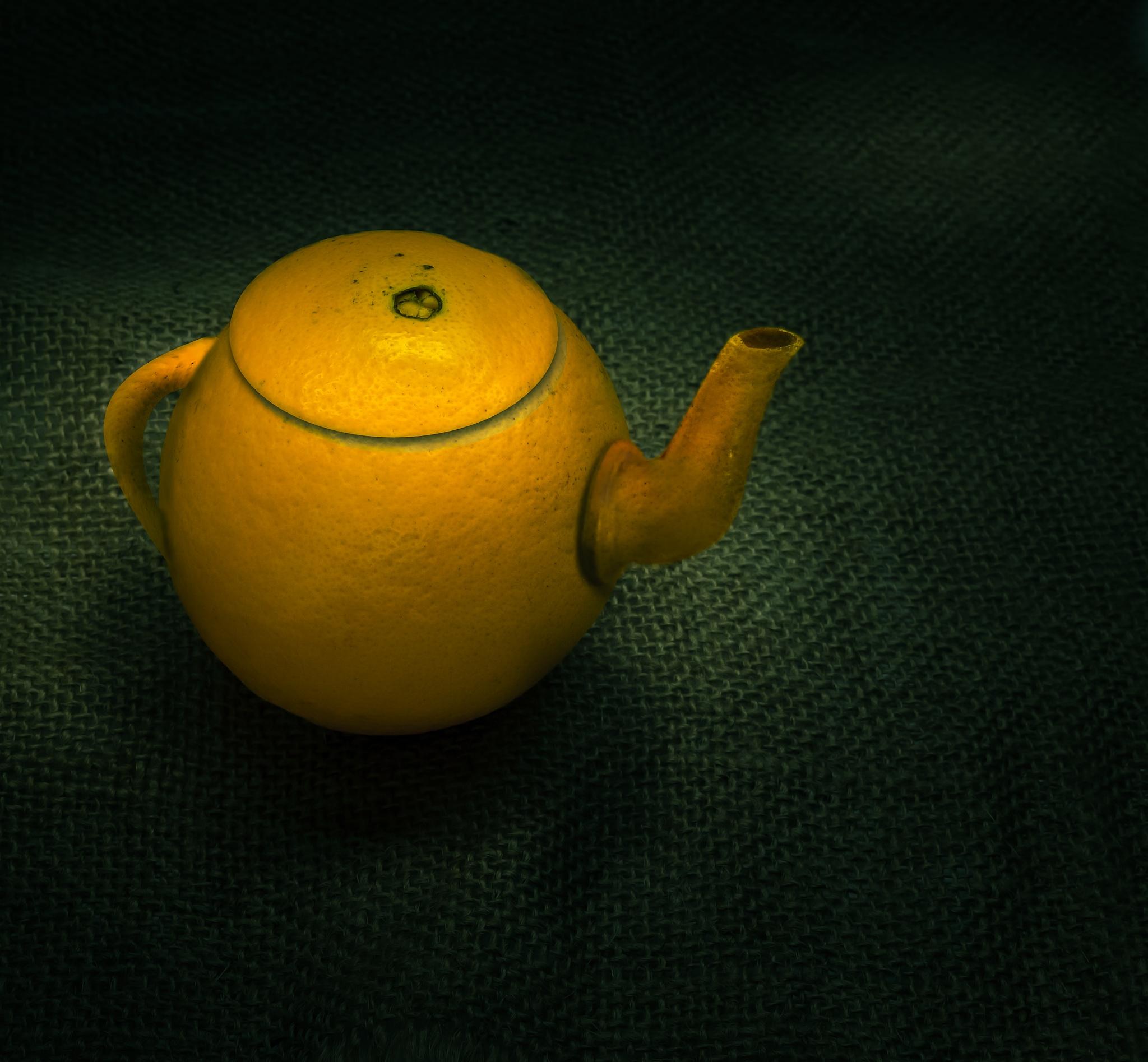 OrangePot - Fine art by Ashraf Sabbah