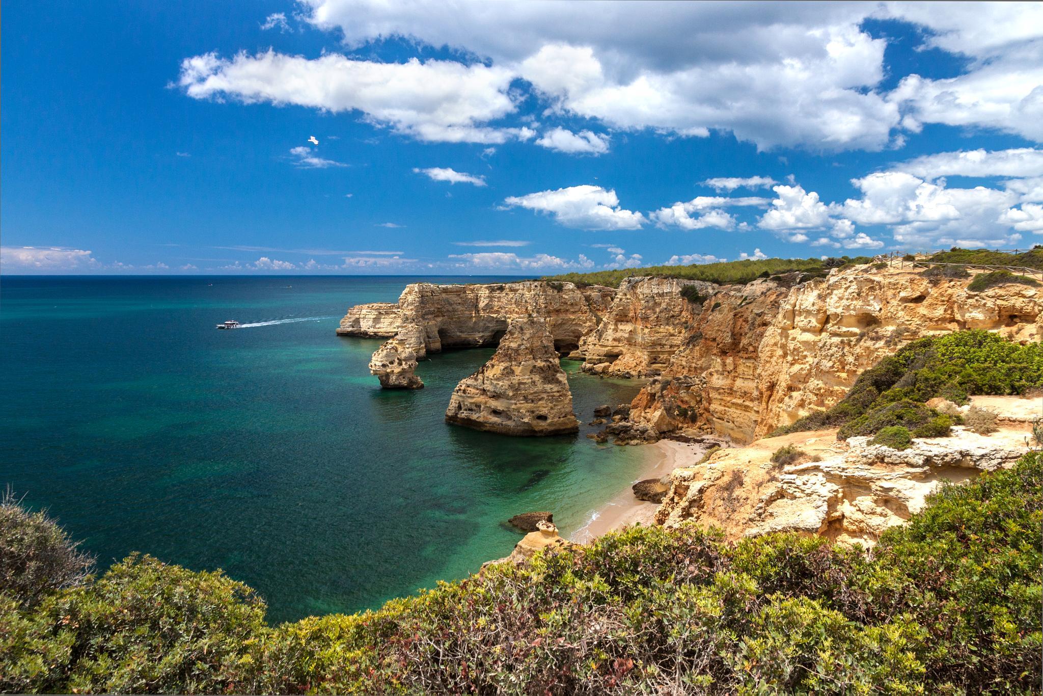 Algarve - Praia da Marinha by Alexander Friedrich