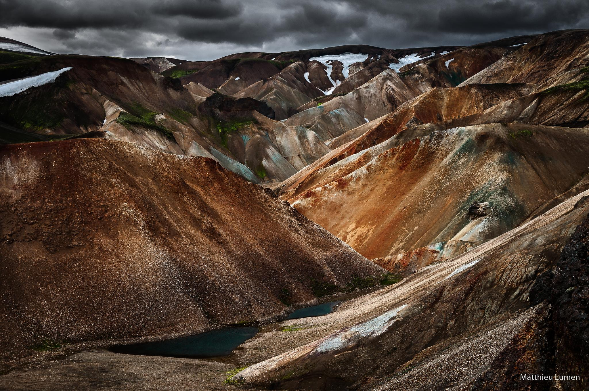 Desert Hills by Matthieu Lumen
