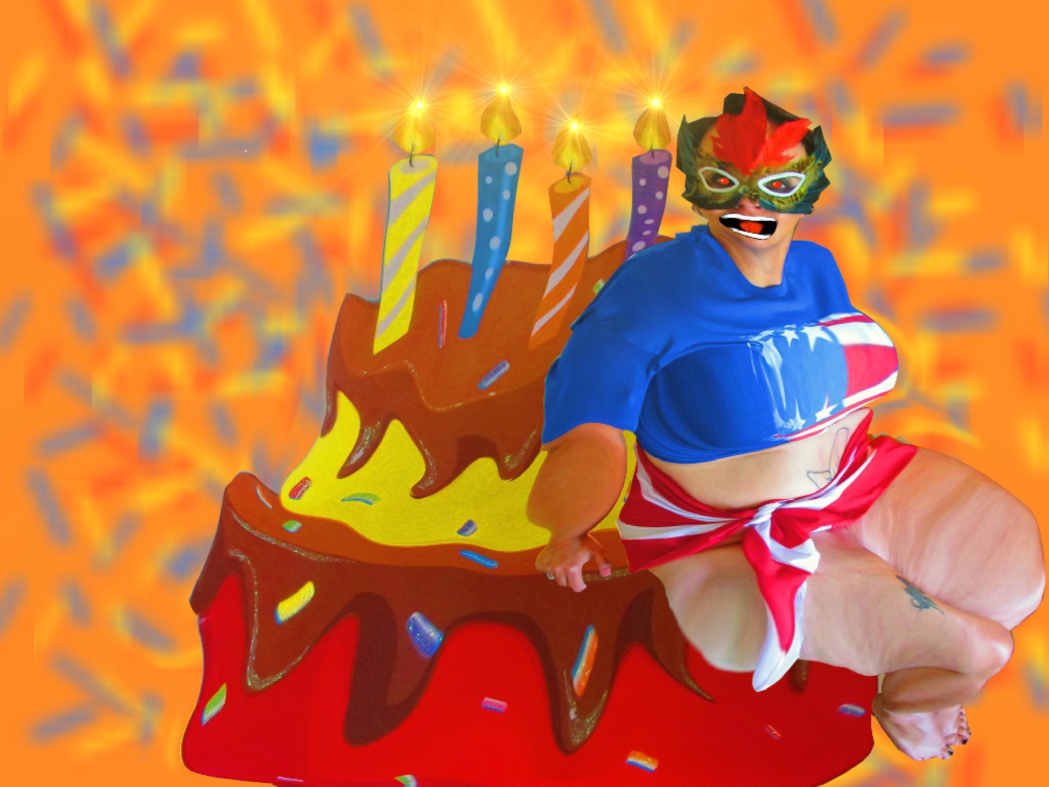 Fat as America - Fatty Cake Fatty Cake by FATasAMERICA