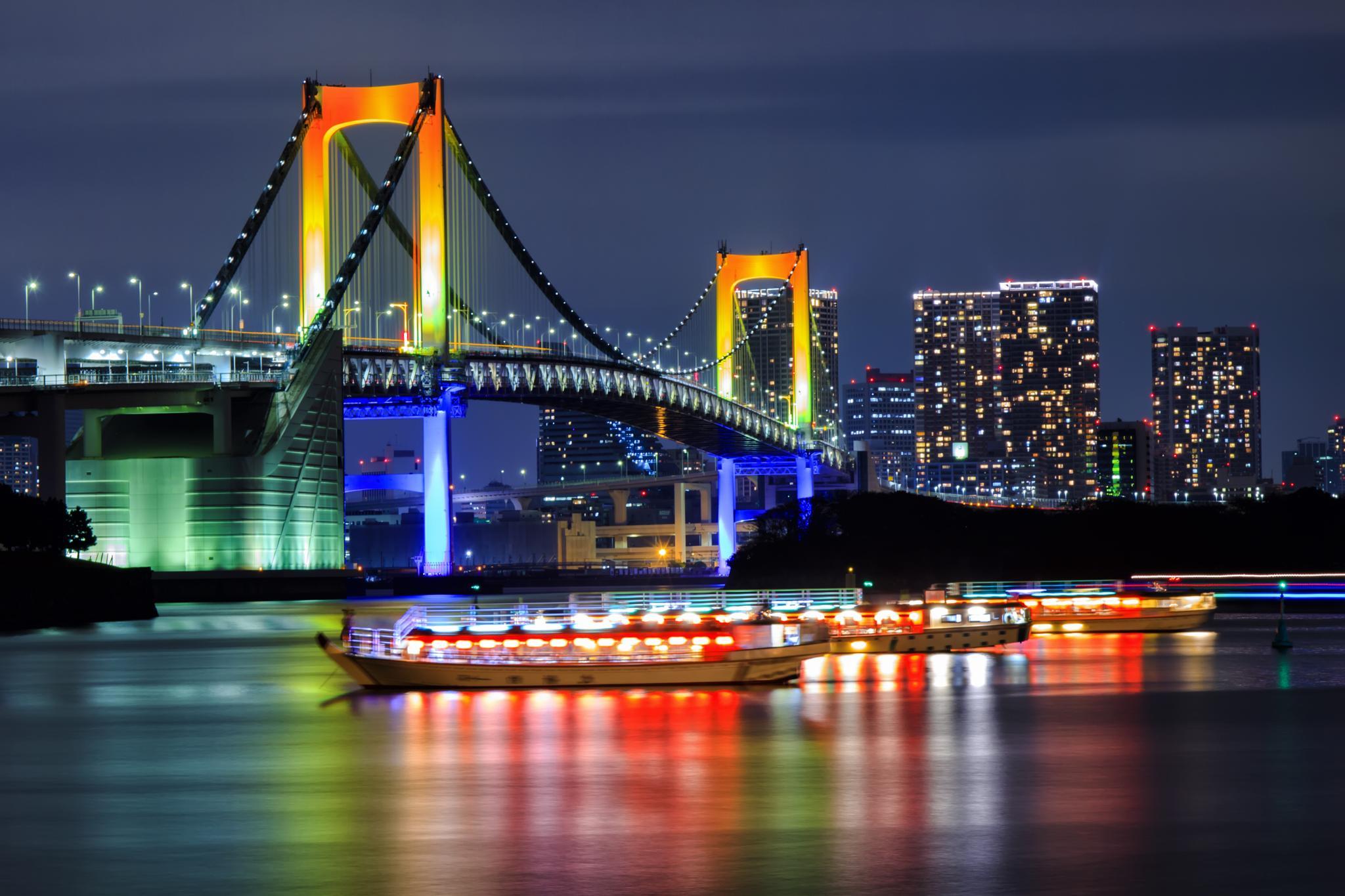 Rainbow Bridge  by Budhi Setyawan