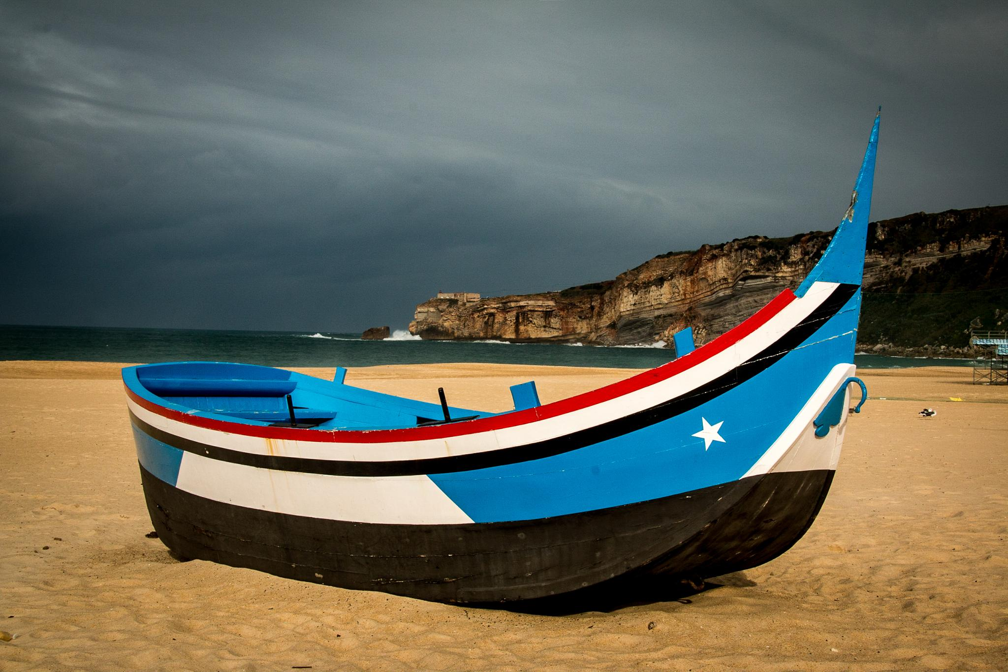 Beached at Nazare, Portugal by stephenhops