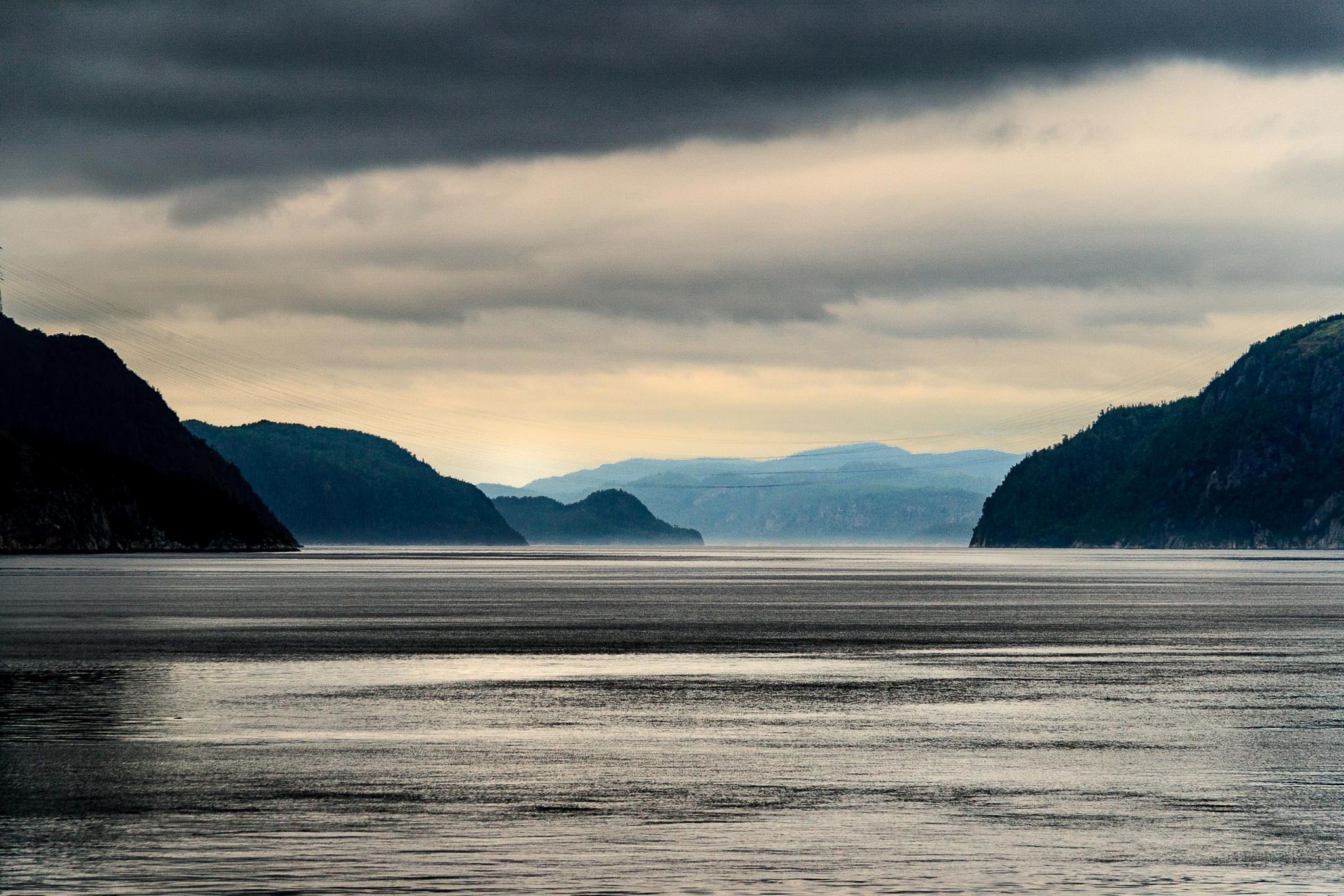 Saguenay Fjord  by stephenhops