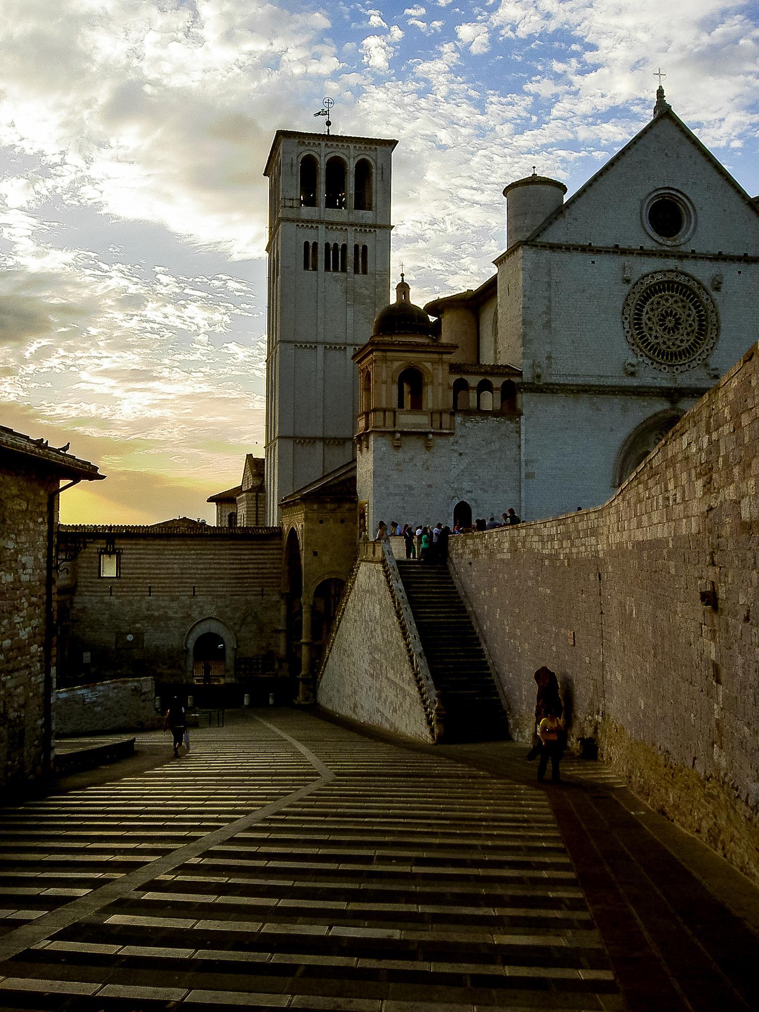 St. Francis Basilica  by stephenhops