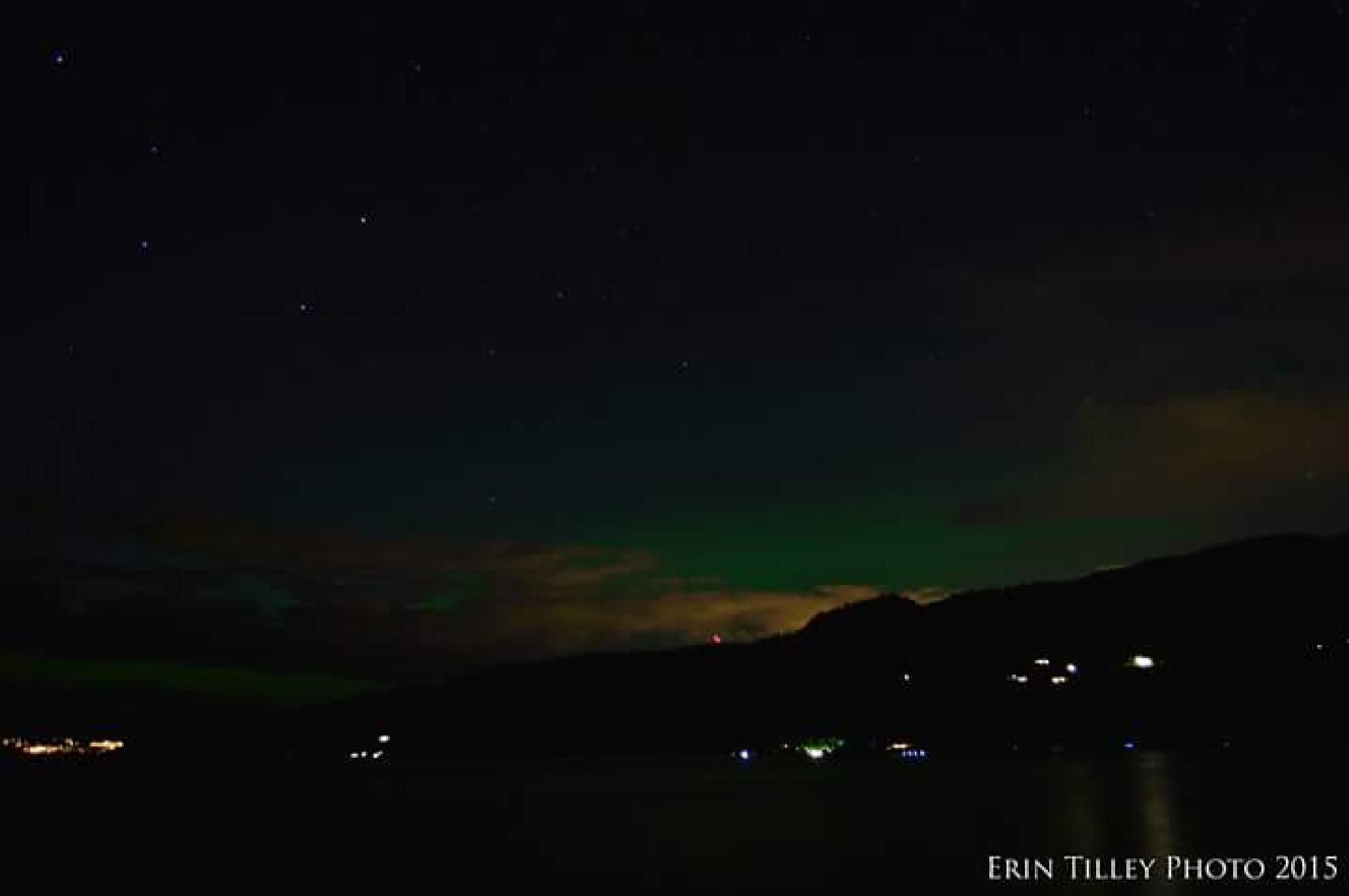 My First Aurora by Erin Tilley Photography