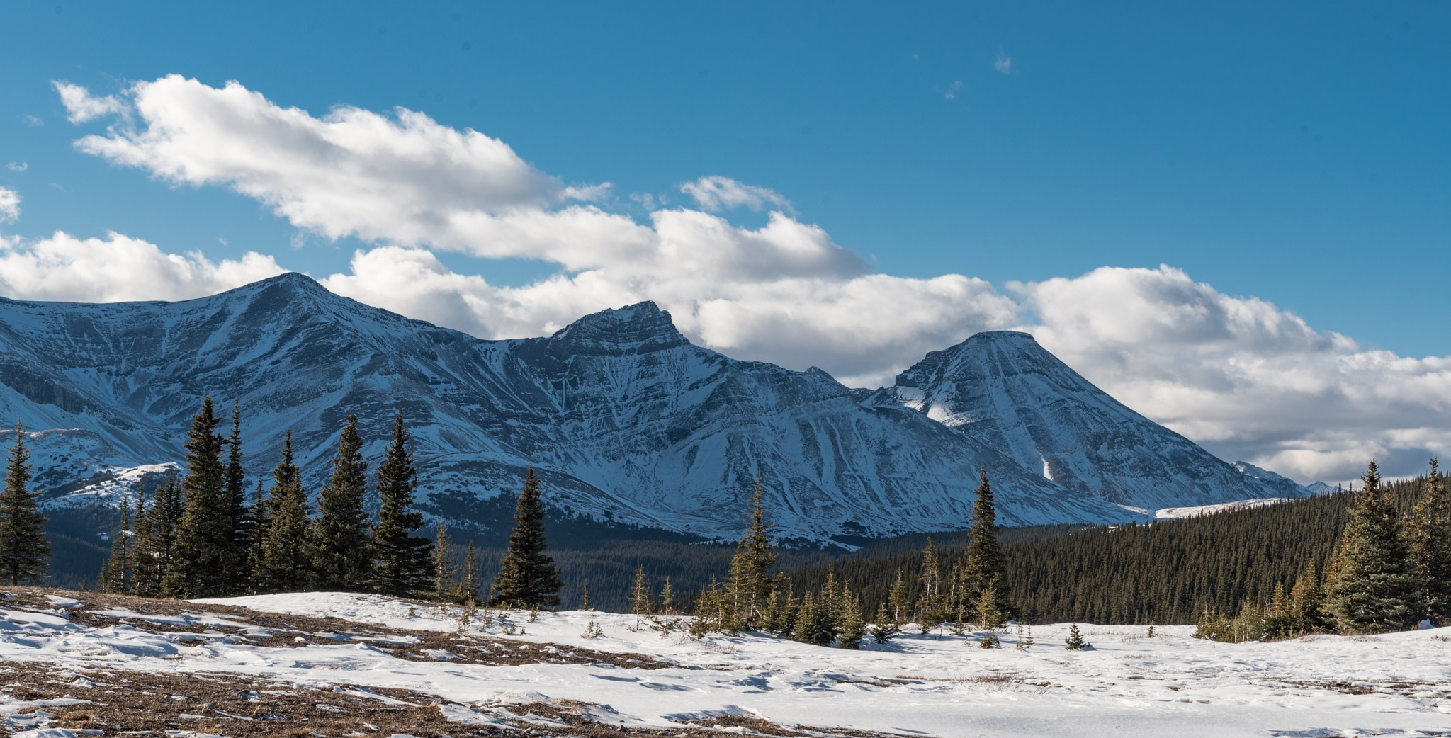 CARDINAL DIVIDE: VIEW FROM IT I by DrJohnHodgson