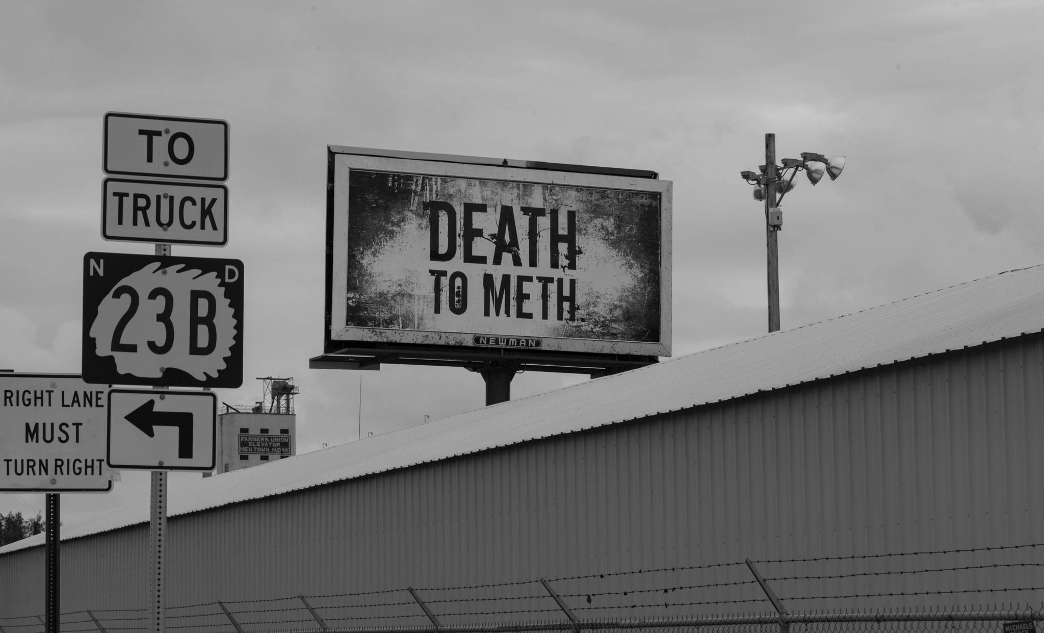 DEATH TO METH -- NEW TOWN ND by DrJohnHodgson