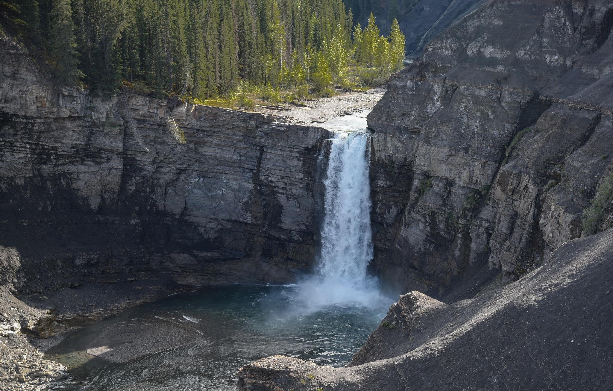 Ram River Falls II by DrJohnHodgson