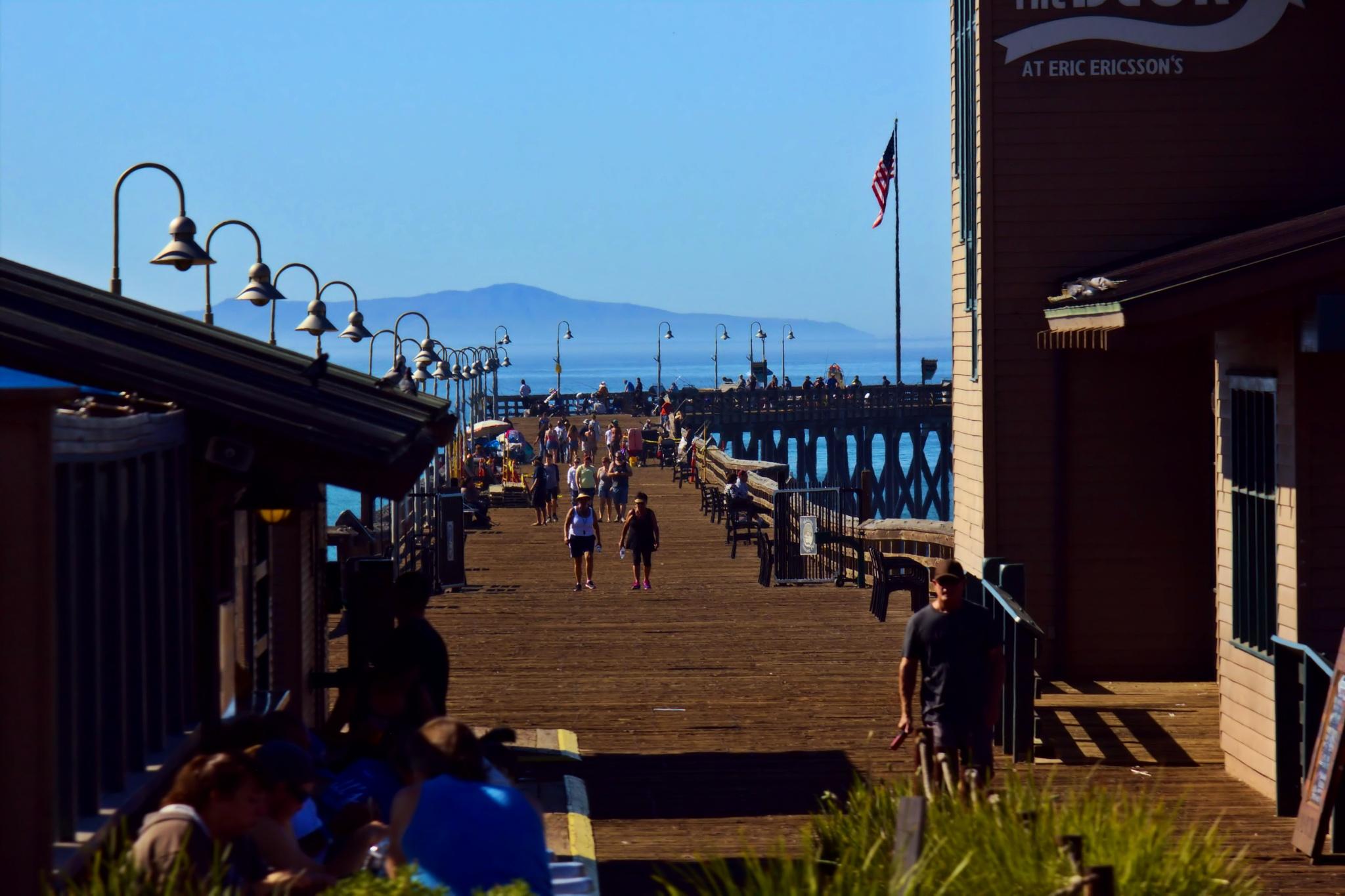 Life on the pier by Tiffanie Faith Chezum