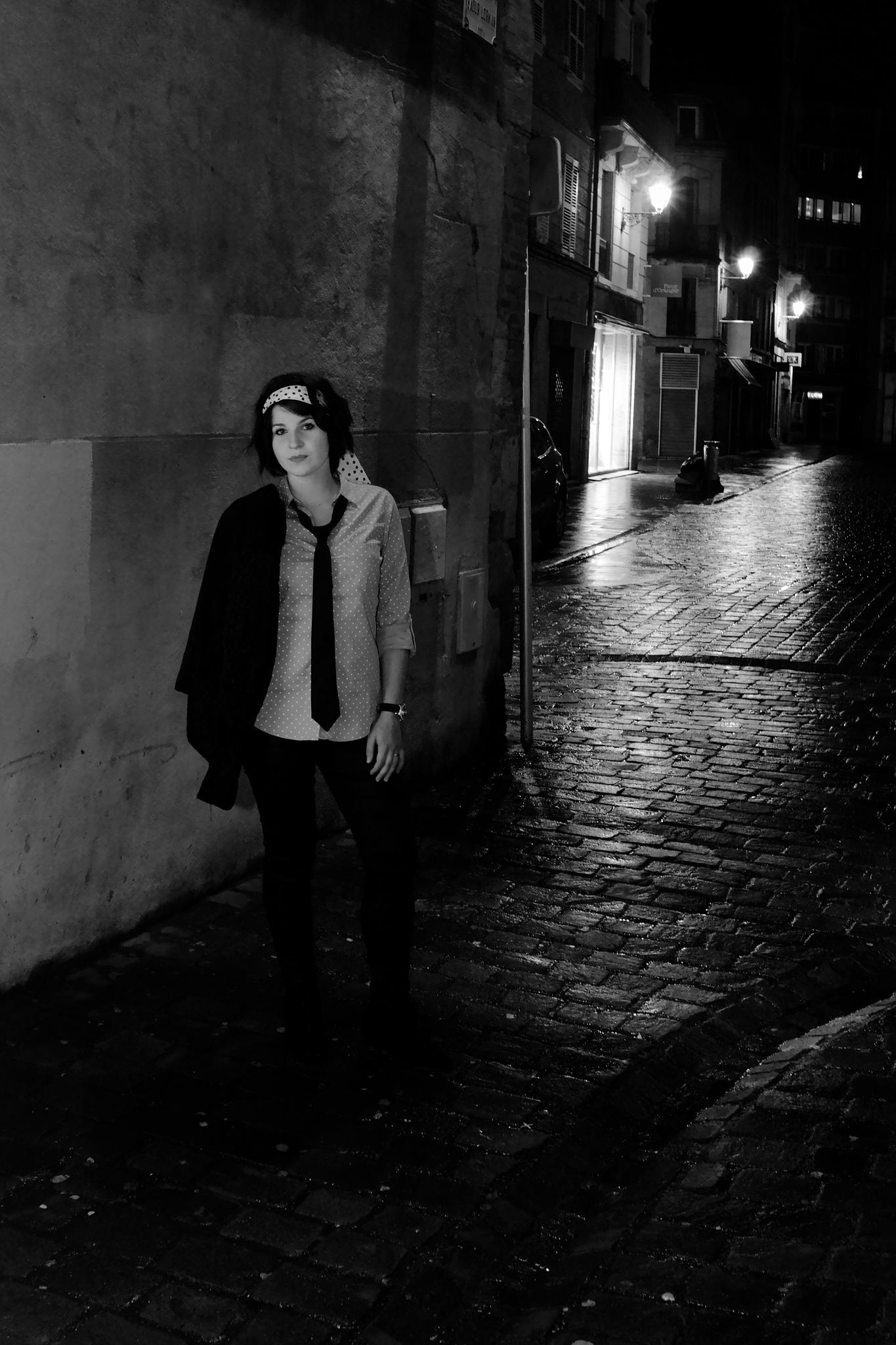 Night portrait by PhilippeMM