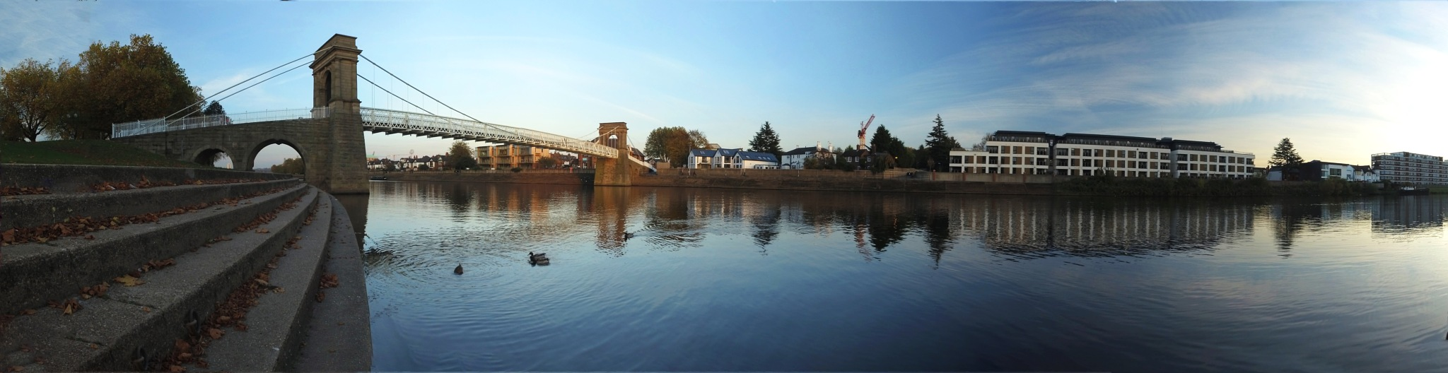 Nottingham Trent Embankment Panorama by Les Kent