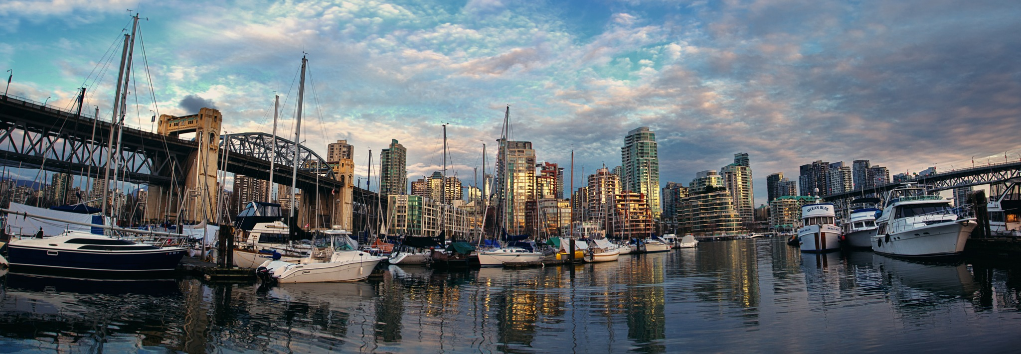 Vancouver Harbour by Stefane Berube