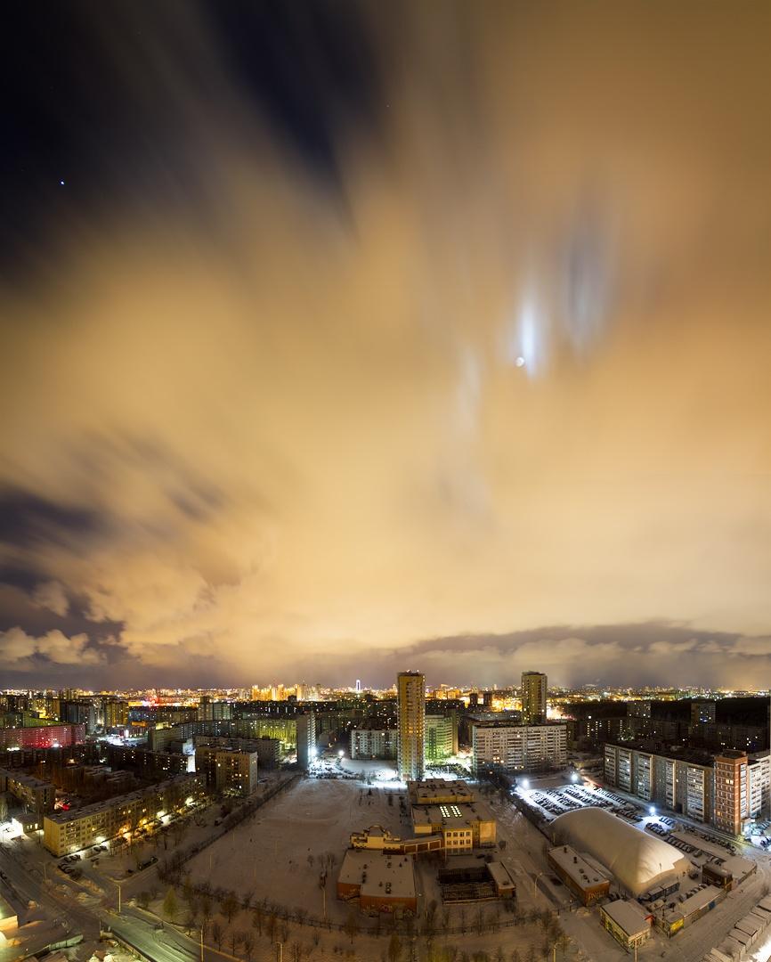 Panorama city by hmelev2012