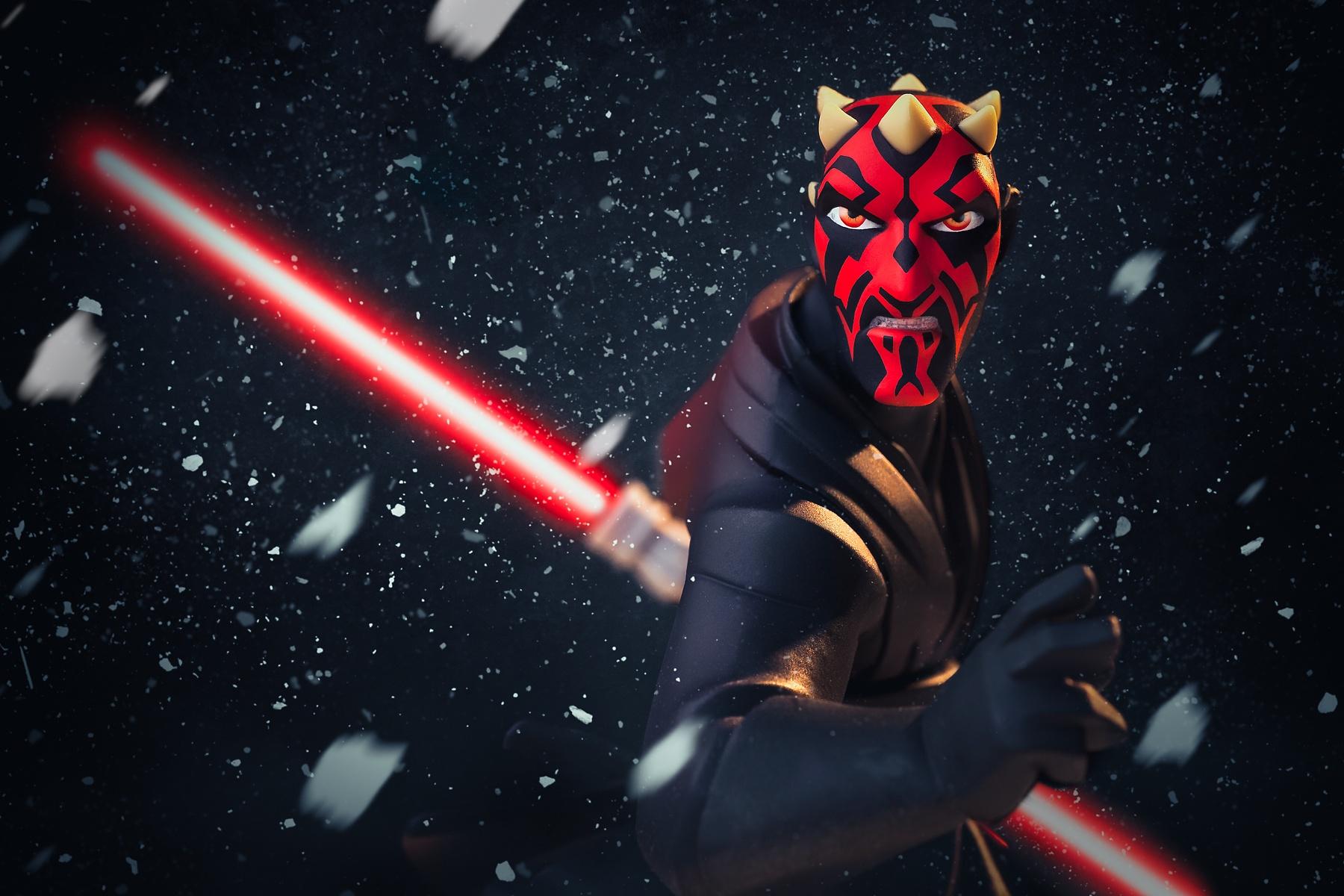 Disney Infinity 3.0's Star Wars Character - DARTH MAUL by Dade Freeman