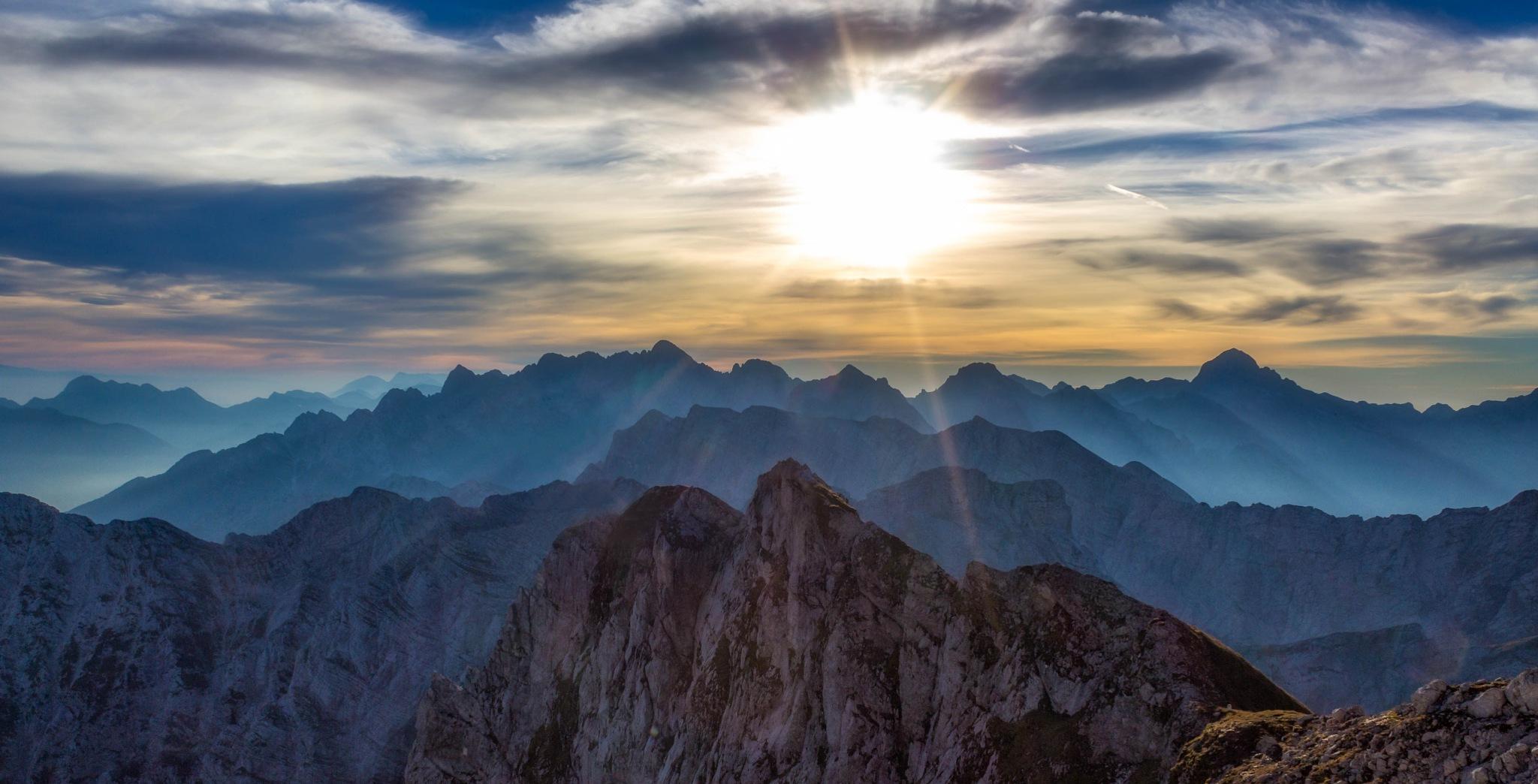 Julian Alps by Miroslav Asanin
